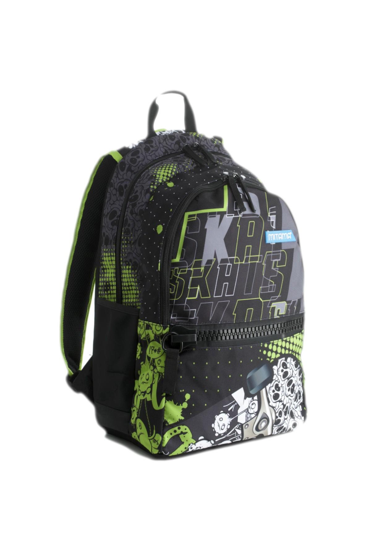 Plecak chłopięcy szkolny  - grafitowy