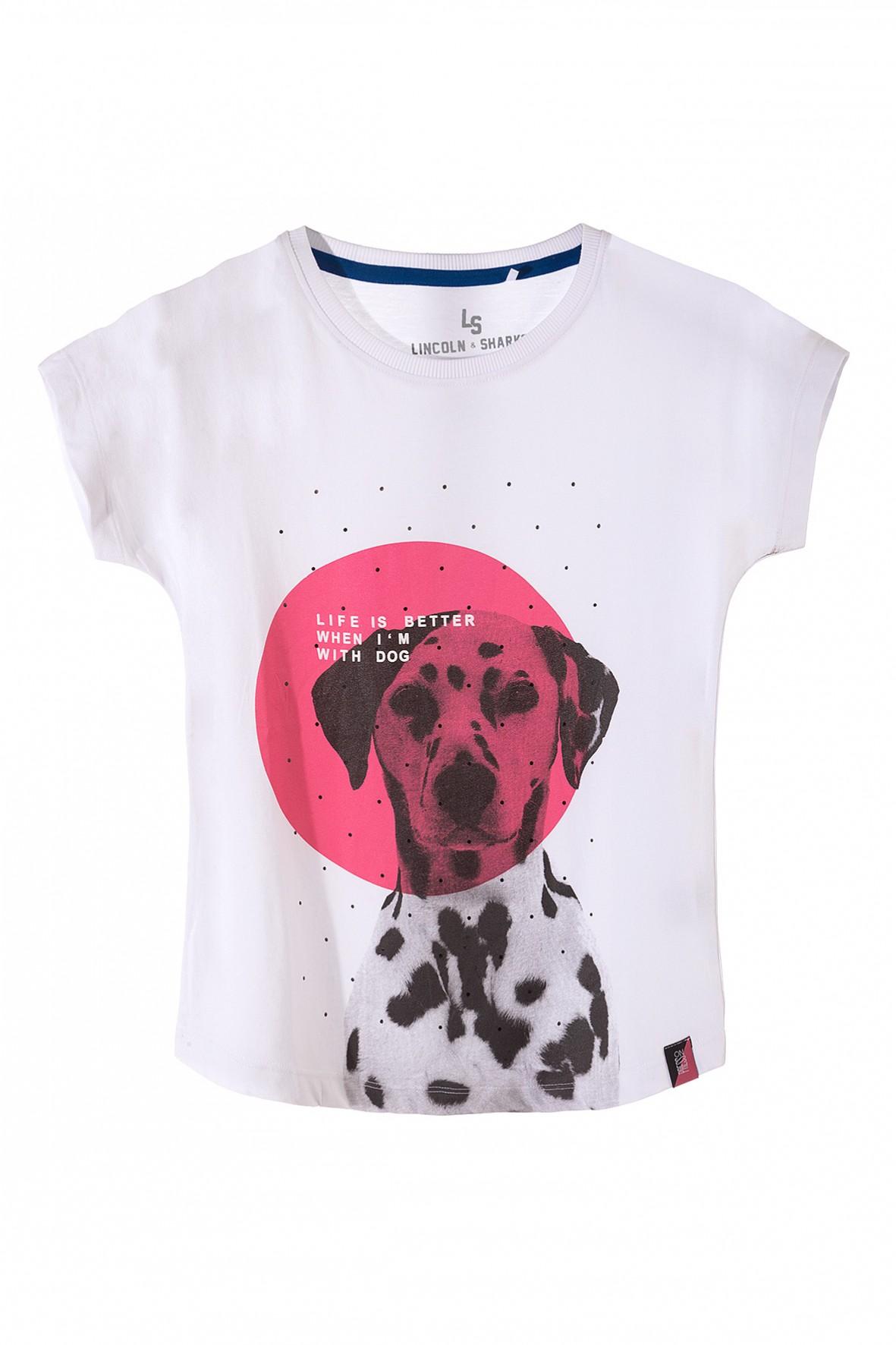 T-shirt dziewczęcy 4I3305