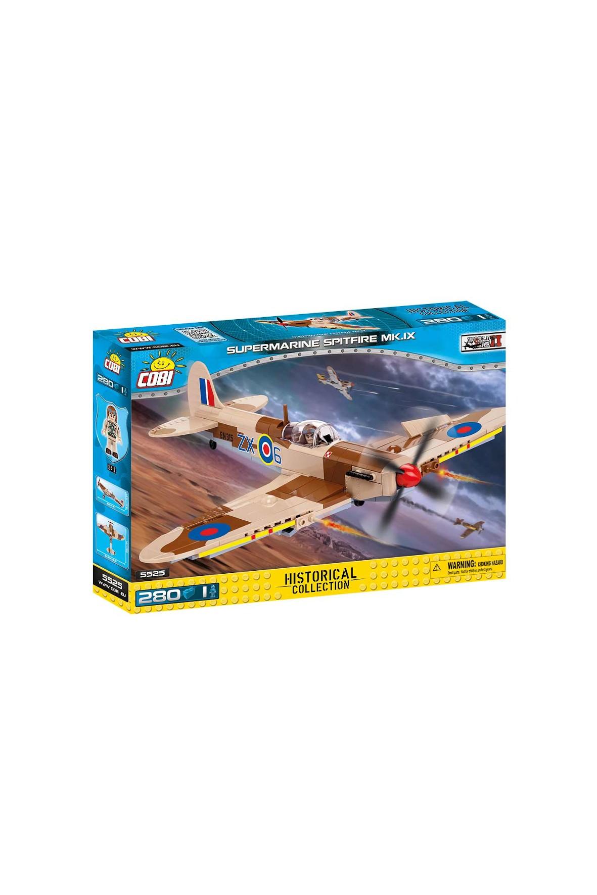 Klocki Cobi Small Army Supermarine Spitfire MK.IX 281el
