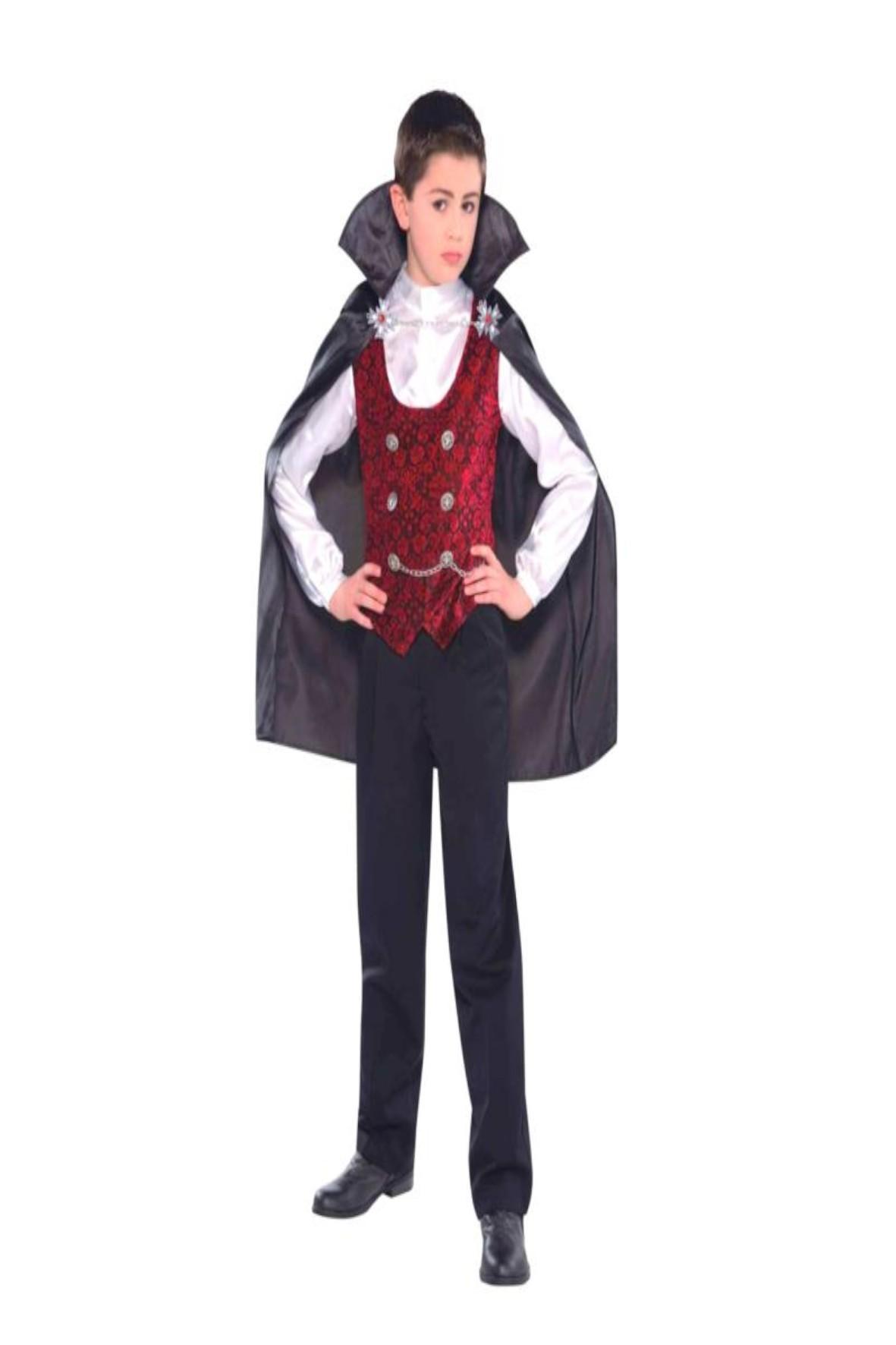 Strój karnawałowy chłopięcy - Drakula