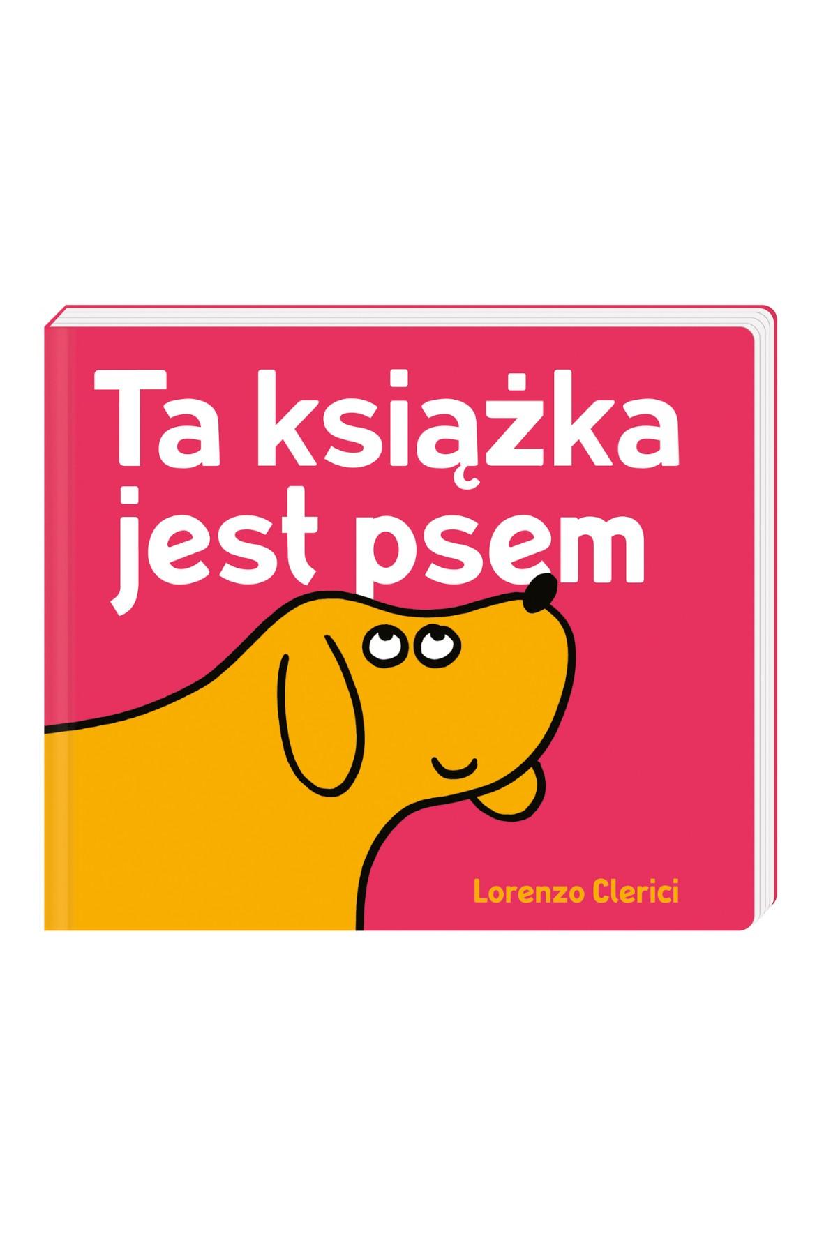 Książeczka dla dzieci-  Ta książka jest psem