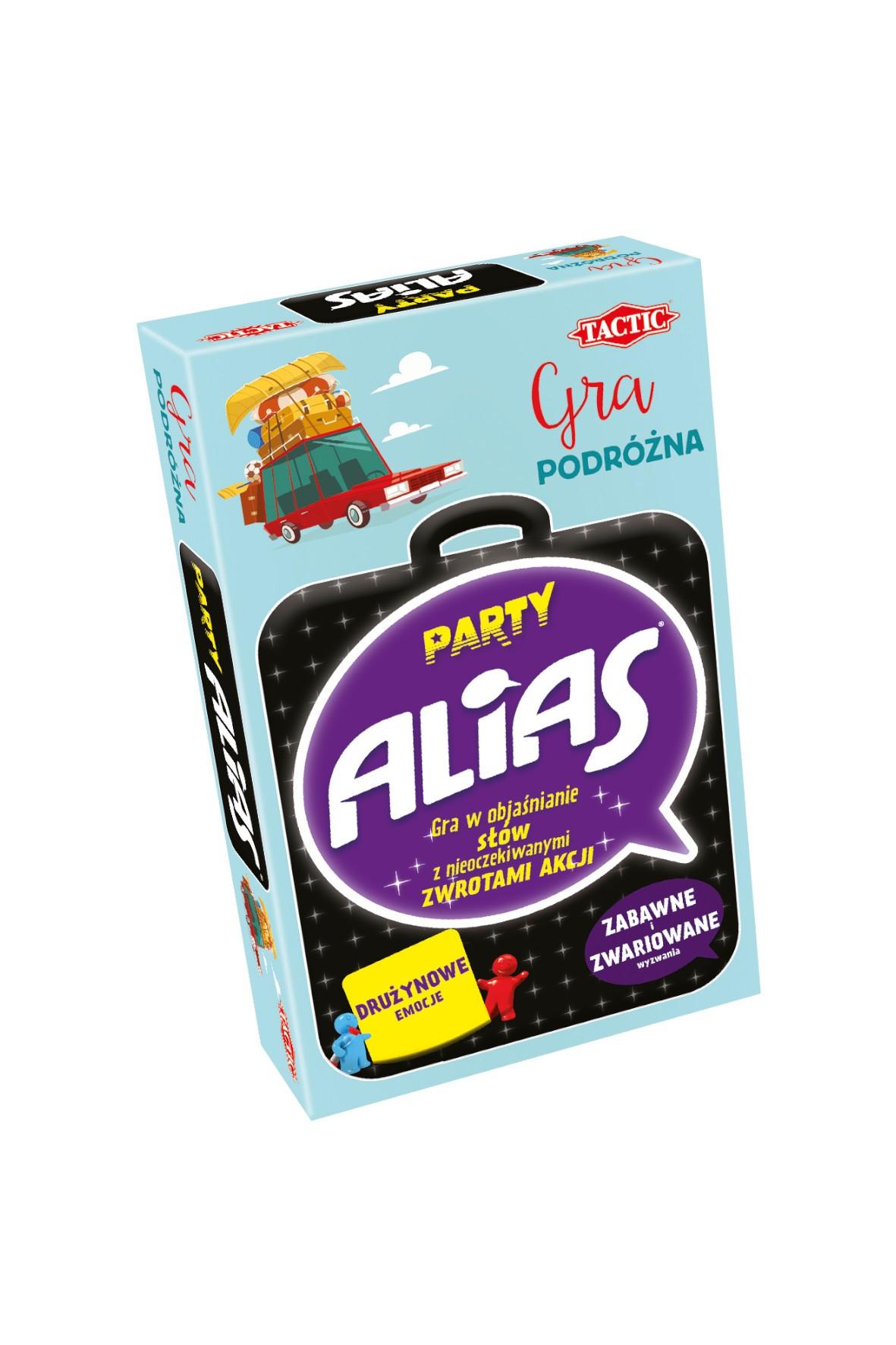 Gra planszowa Party Alias wersja podróżna wiek 12+