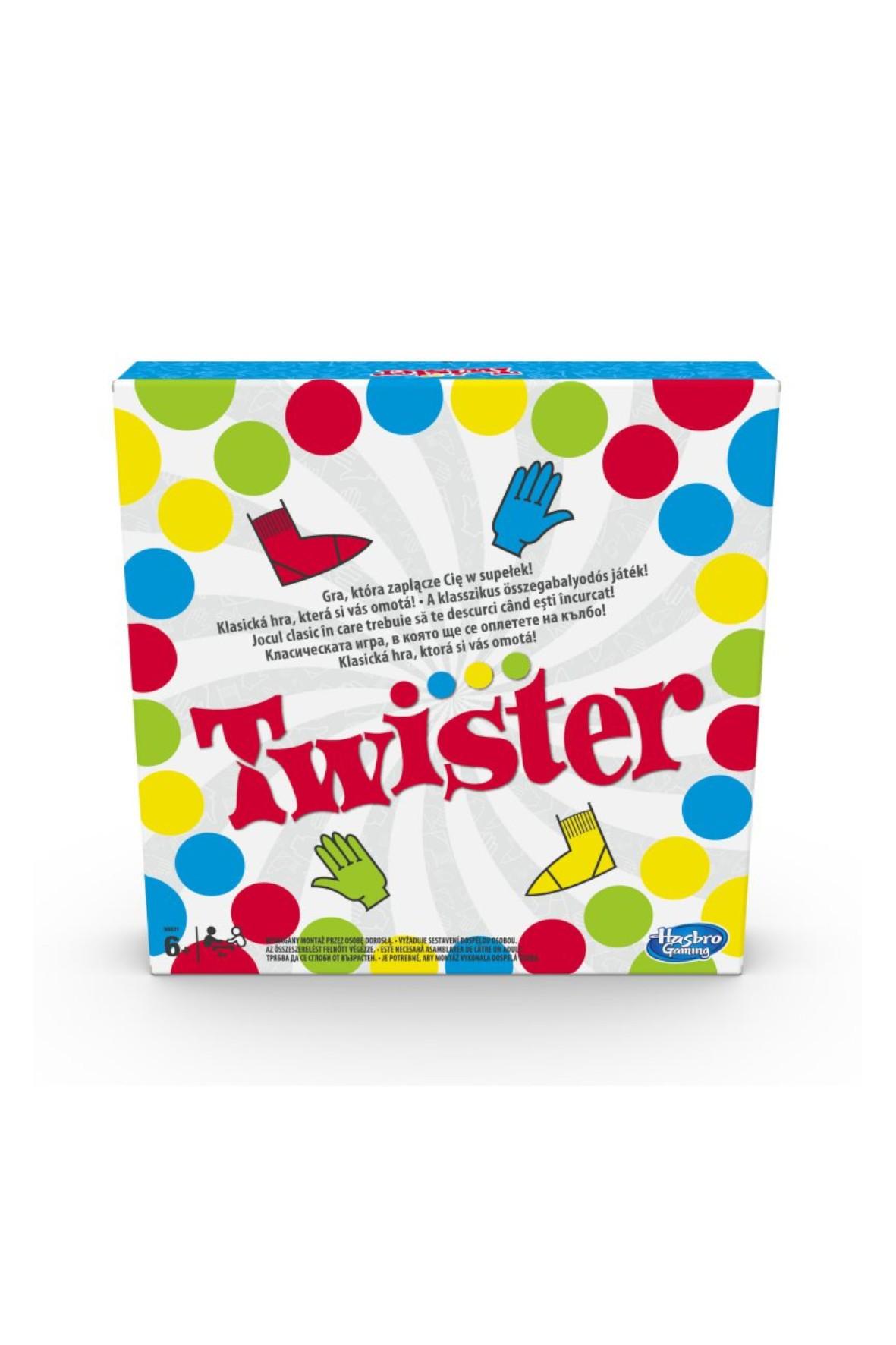 Hasbro - Gra Twister Nowa Wersja