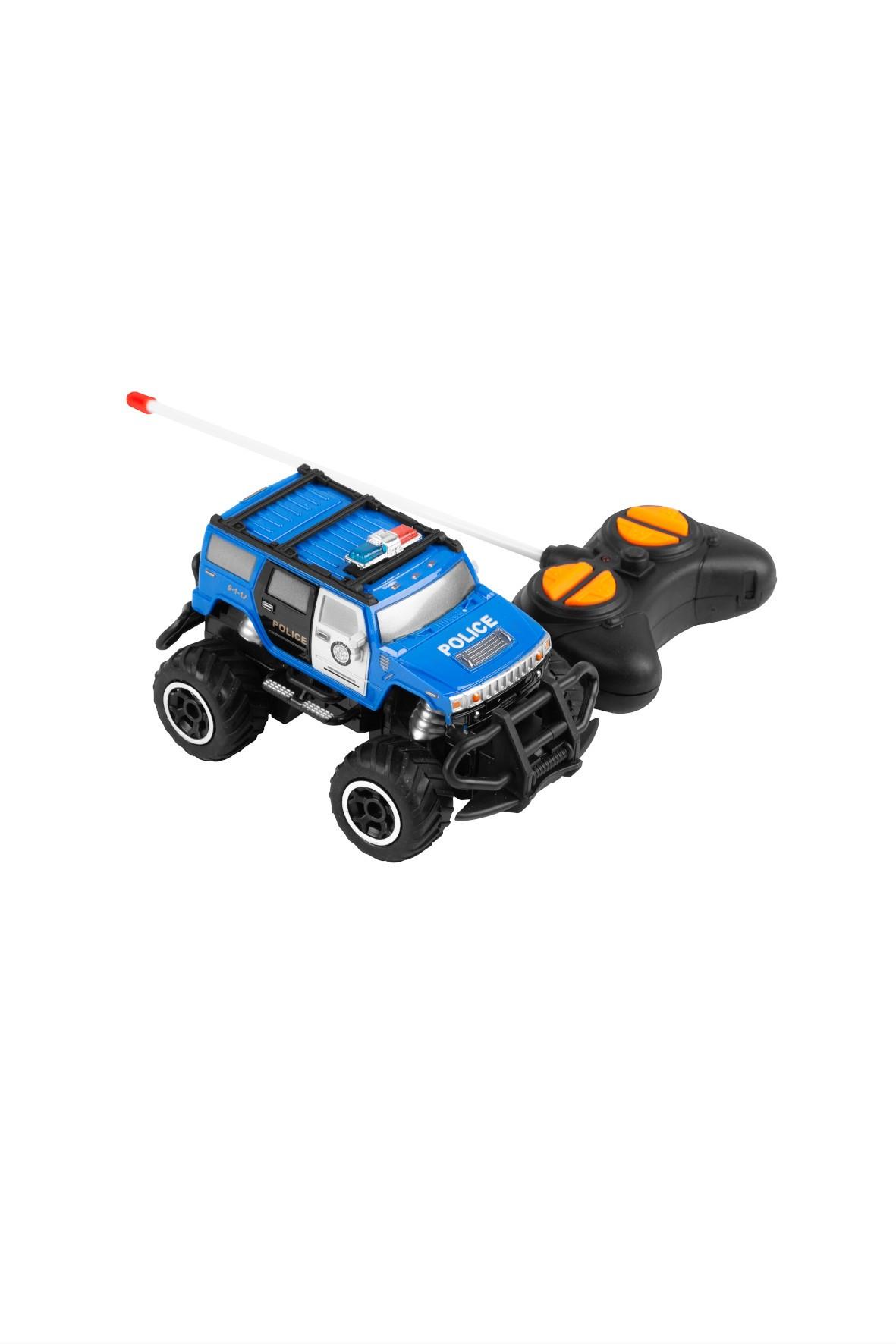 Samochód zdalnie sterowany RC UGO Policja 1:43 10km/h
