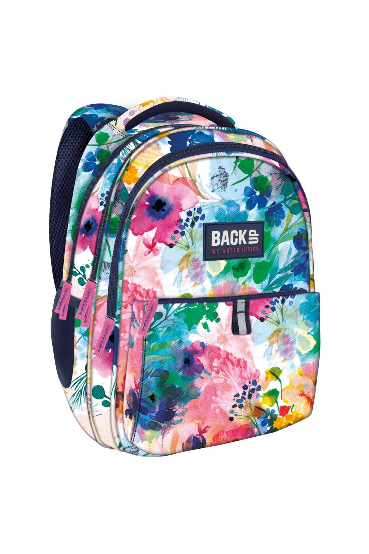 9d1032077fa4f Plecak dziewczęcy w kwiaty 4Y36B6   Sklep 5.10.15