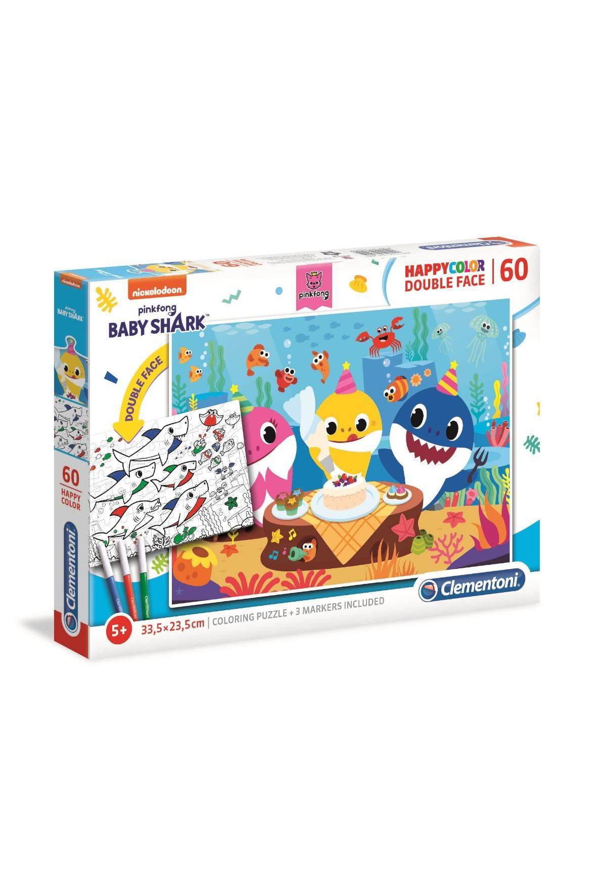 Puzzle 60 happycolor Baby Shark 26095