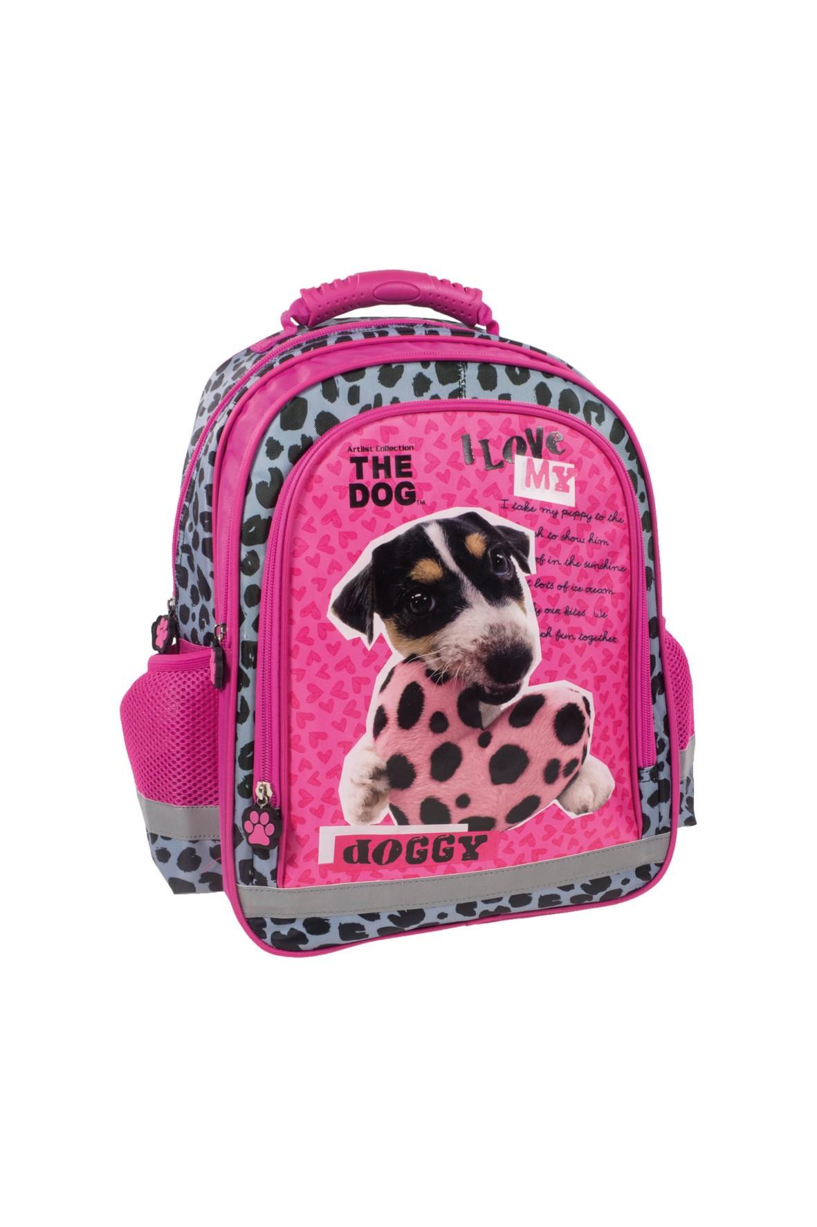 Dwukomorowy plecak do szkoły