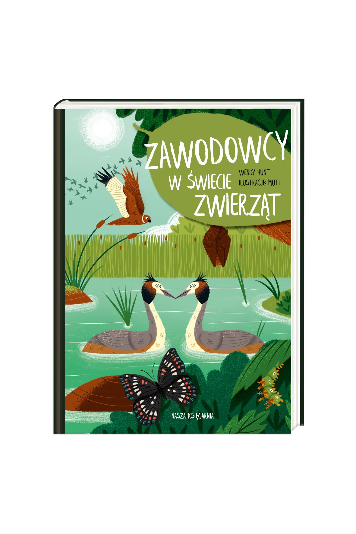 Zawodowcy w świecie zwierząt-książka dla dzieci