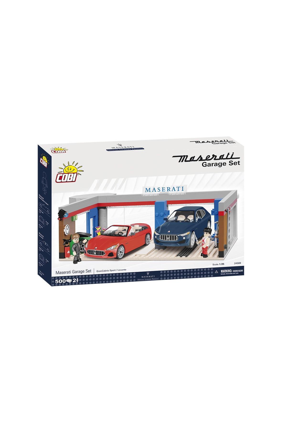 Klocki COBI Samchód Maserati 500el