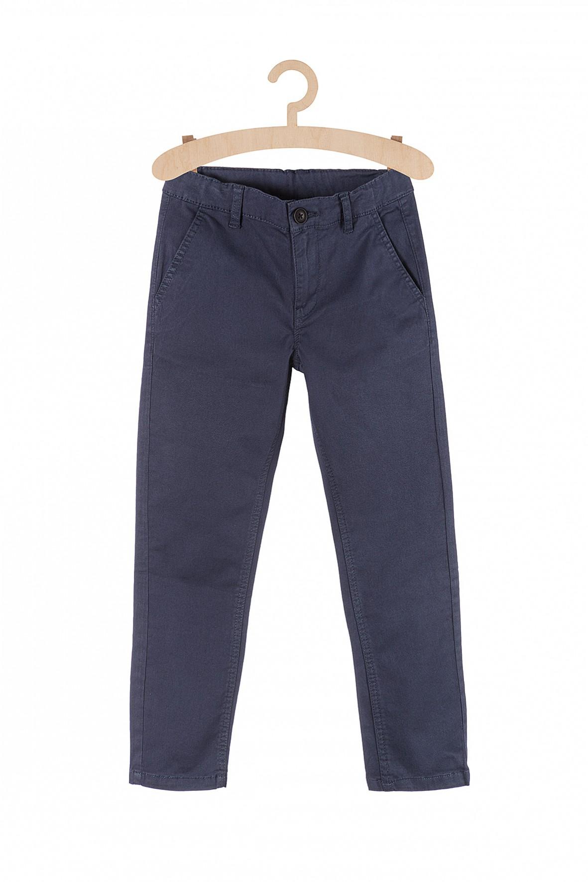 Spodnie chłopięce granatowe- klasyczne