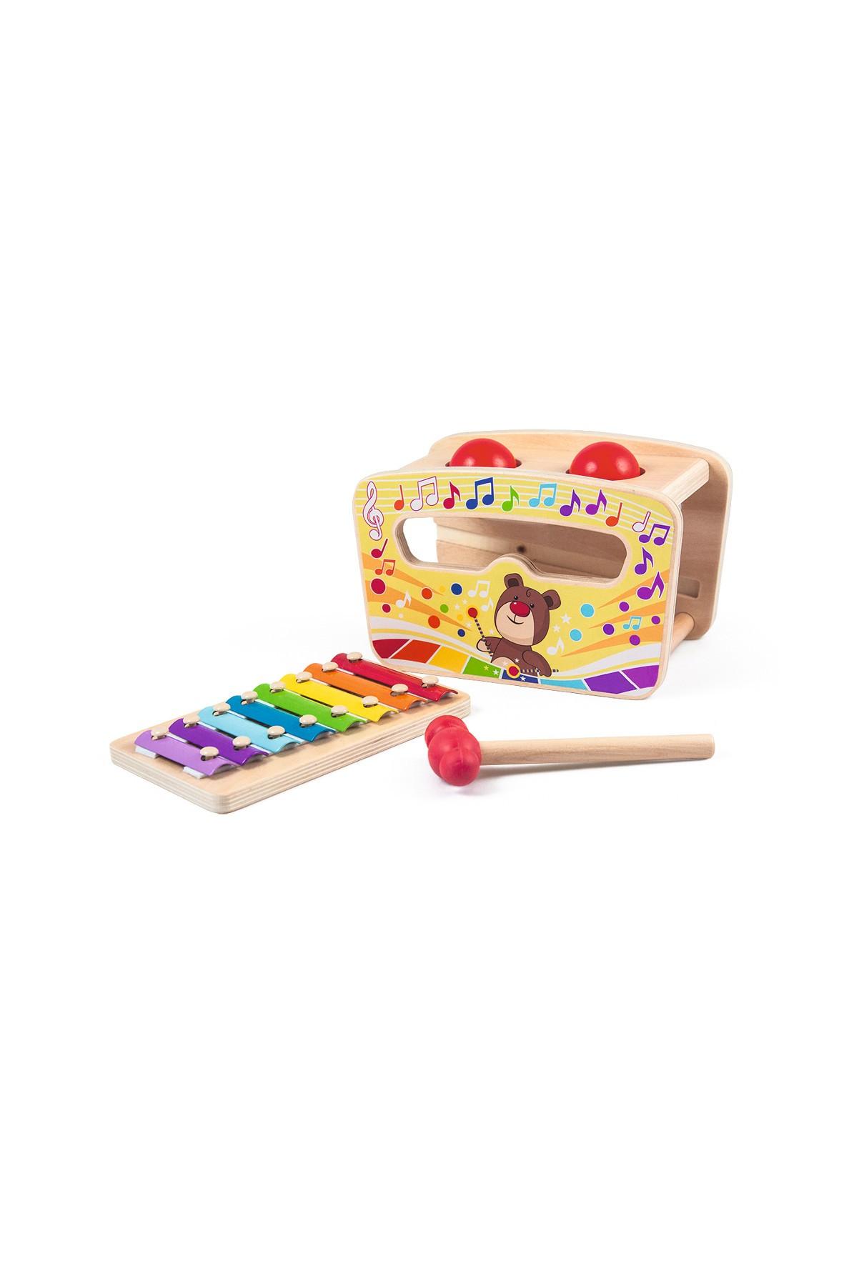 Zabawka drewniana muzyczna- Gram w bim bam Trefl