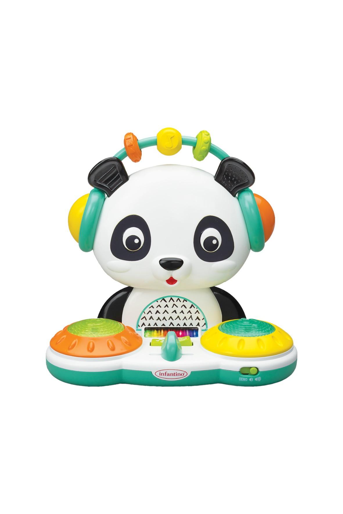 Zabawka edukacyjna Infantino DJ Panda 6msc+
