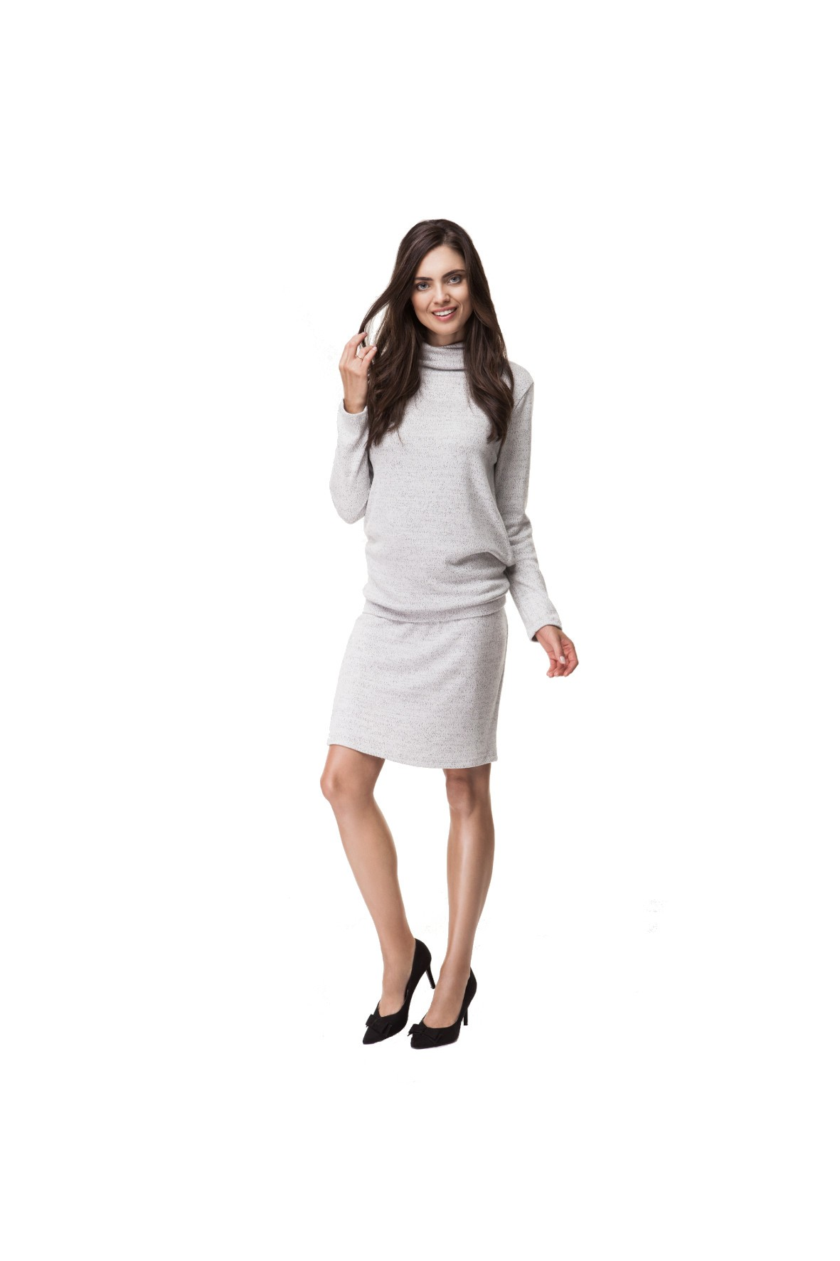Komplet Ciążowy bluzka i spódnica