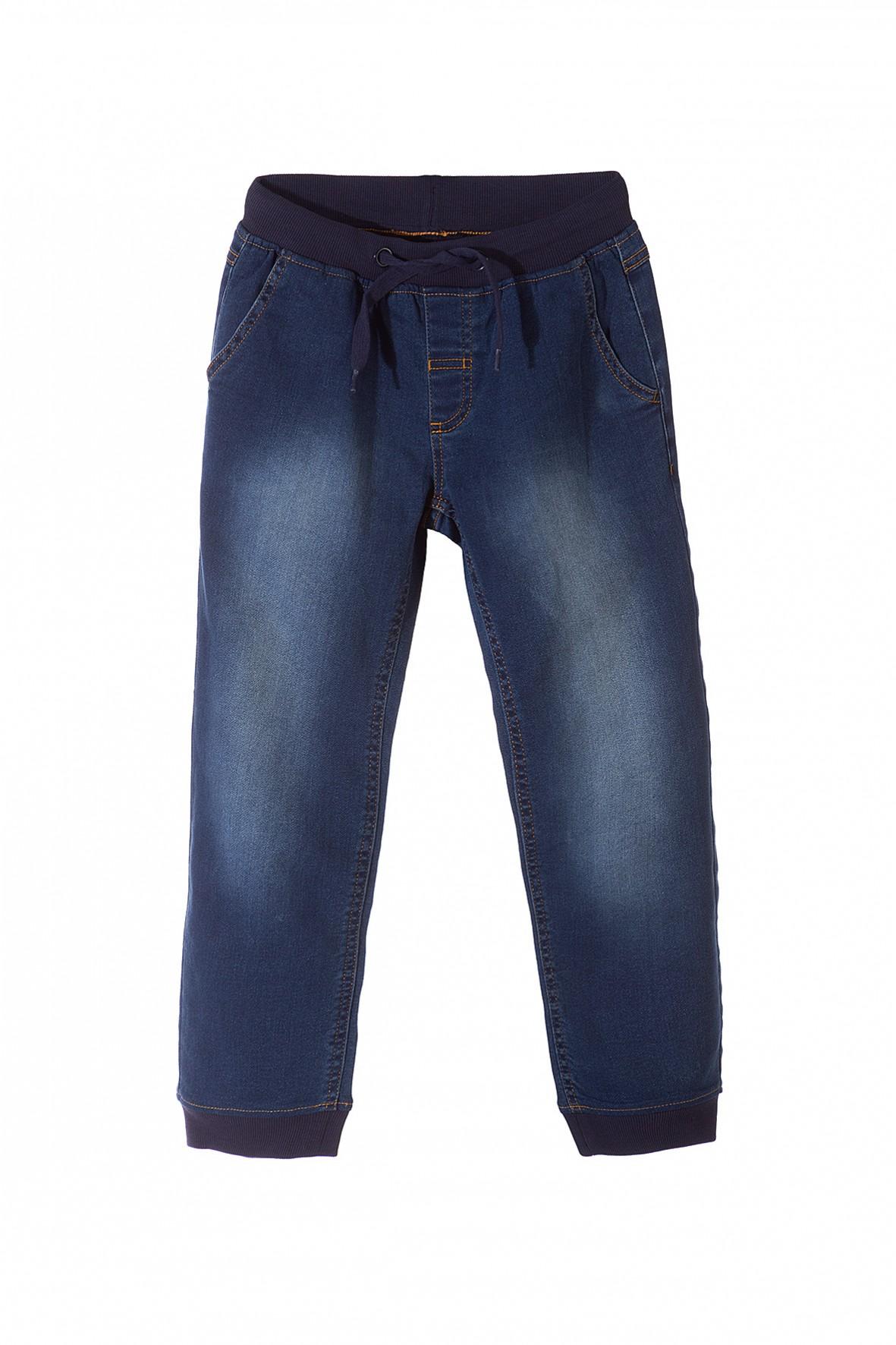 Spodnie jeansowe dla chłopca- granatowe
