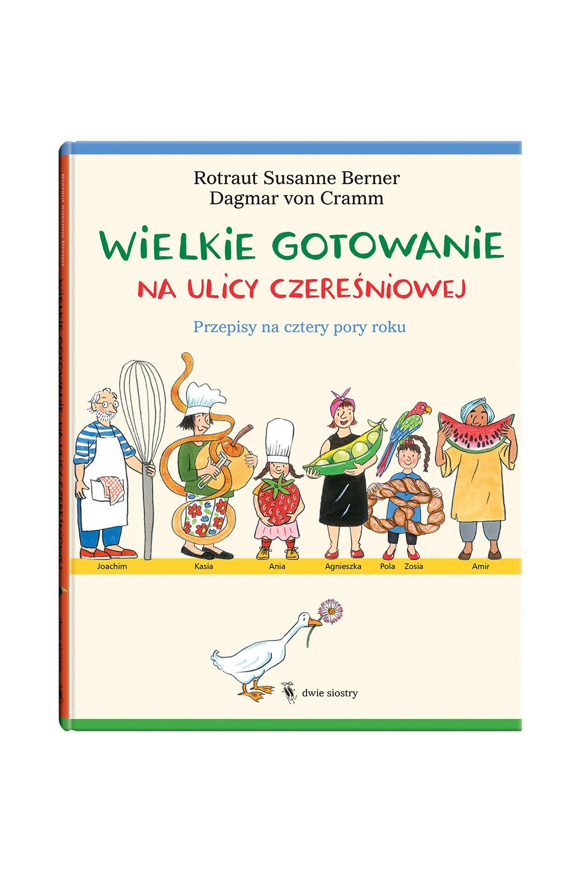 """Książka """"Wielkie gotowanie na ulicy Czereśniowej"""""""