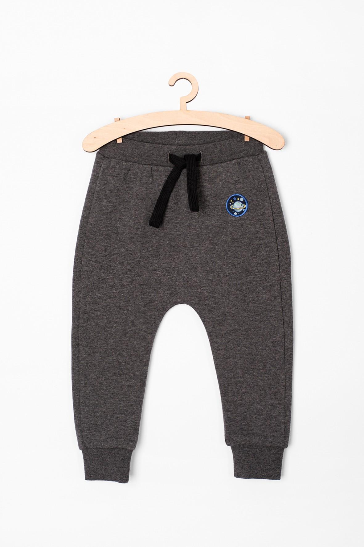 Spodnie niemowlęce dresowe szare