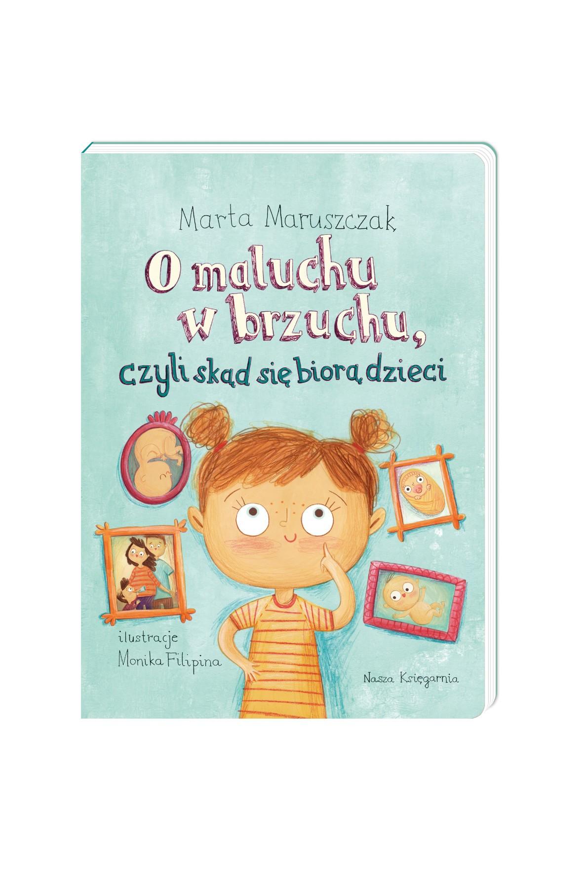 Książeczka-O maluchu w brzuchu, czyli skąd się biorą dzieci
