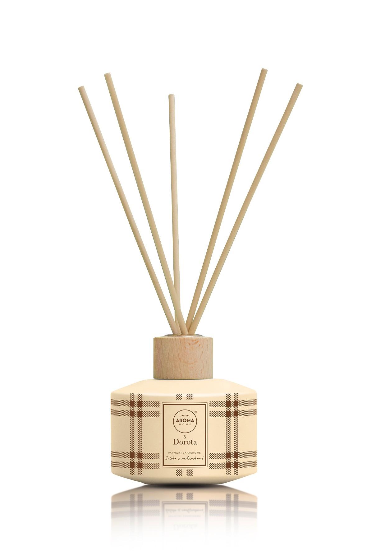 Aroma Home & Dorota Patyczki zapachowe Babka z Rodzynkami 100ml