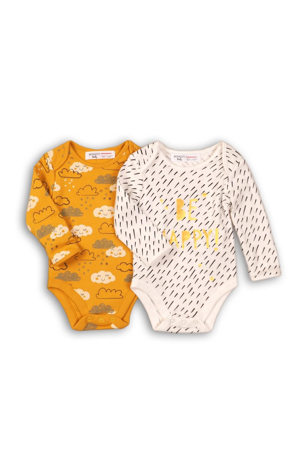 Body niemowlęce Be Happy 2pak