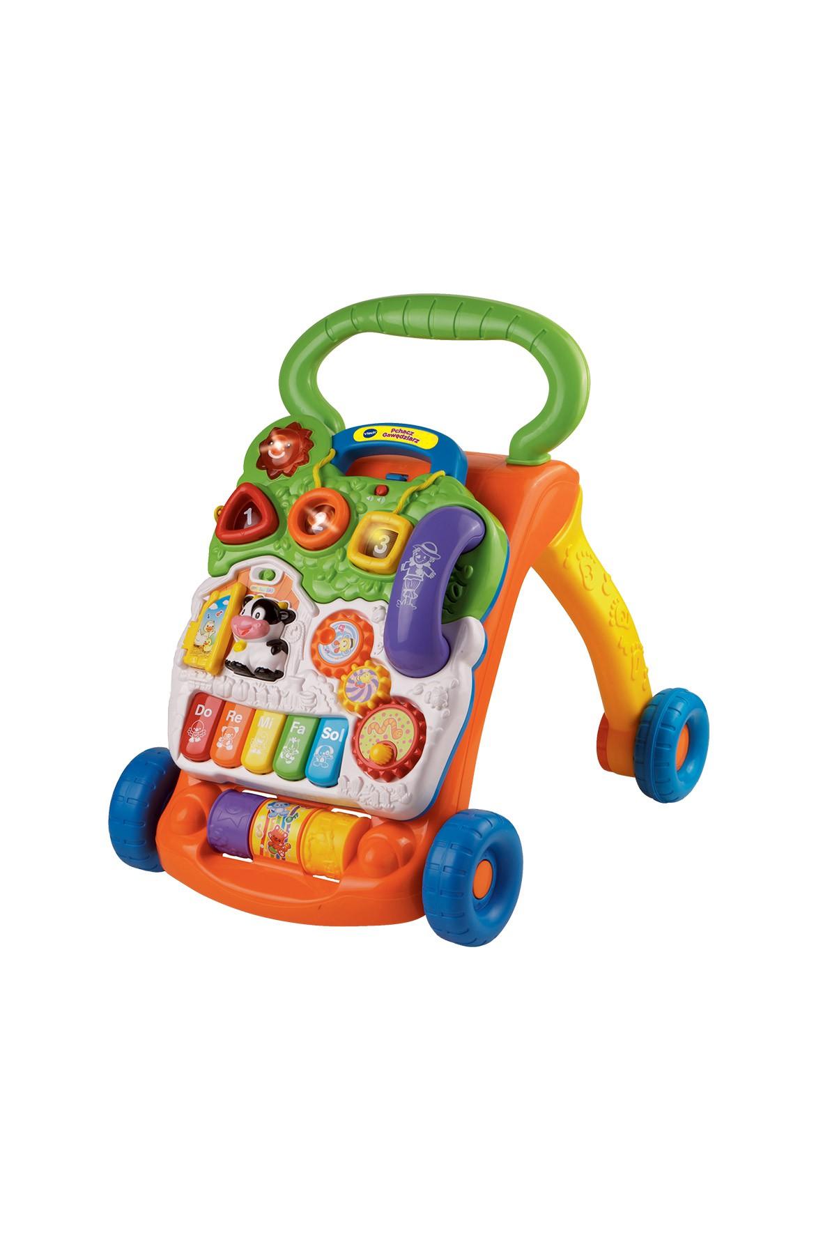 Pchacz gawędziarz-chodzik dla dziecka