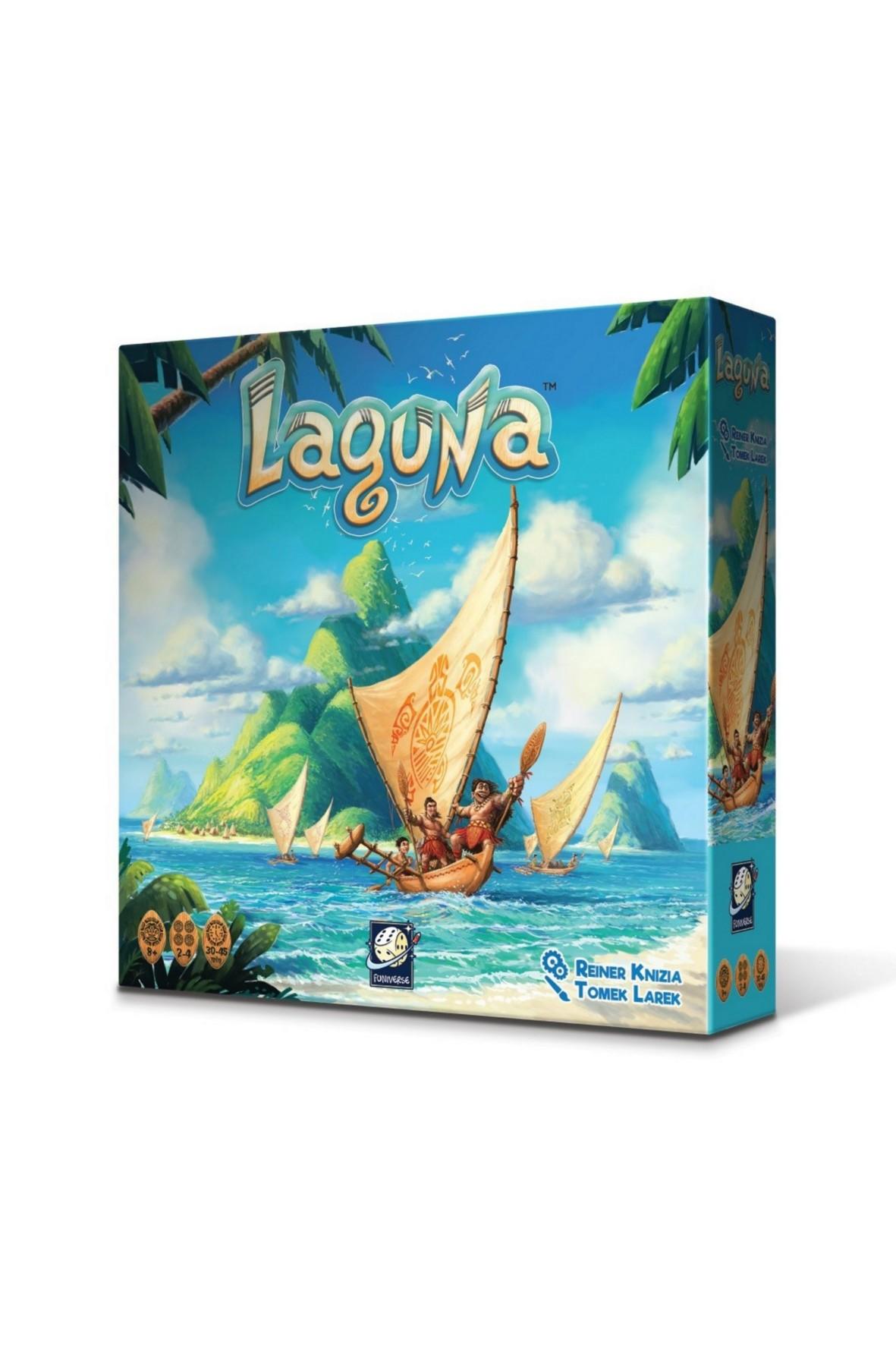 Gra planszowa dla dzieci Laguna