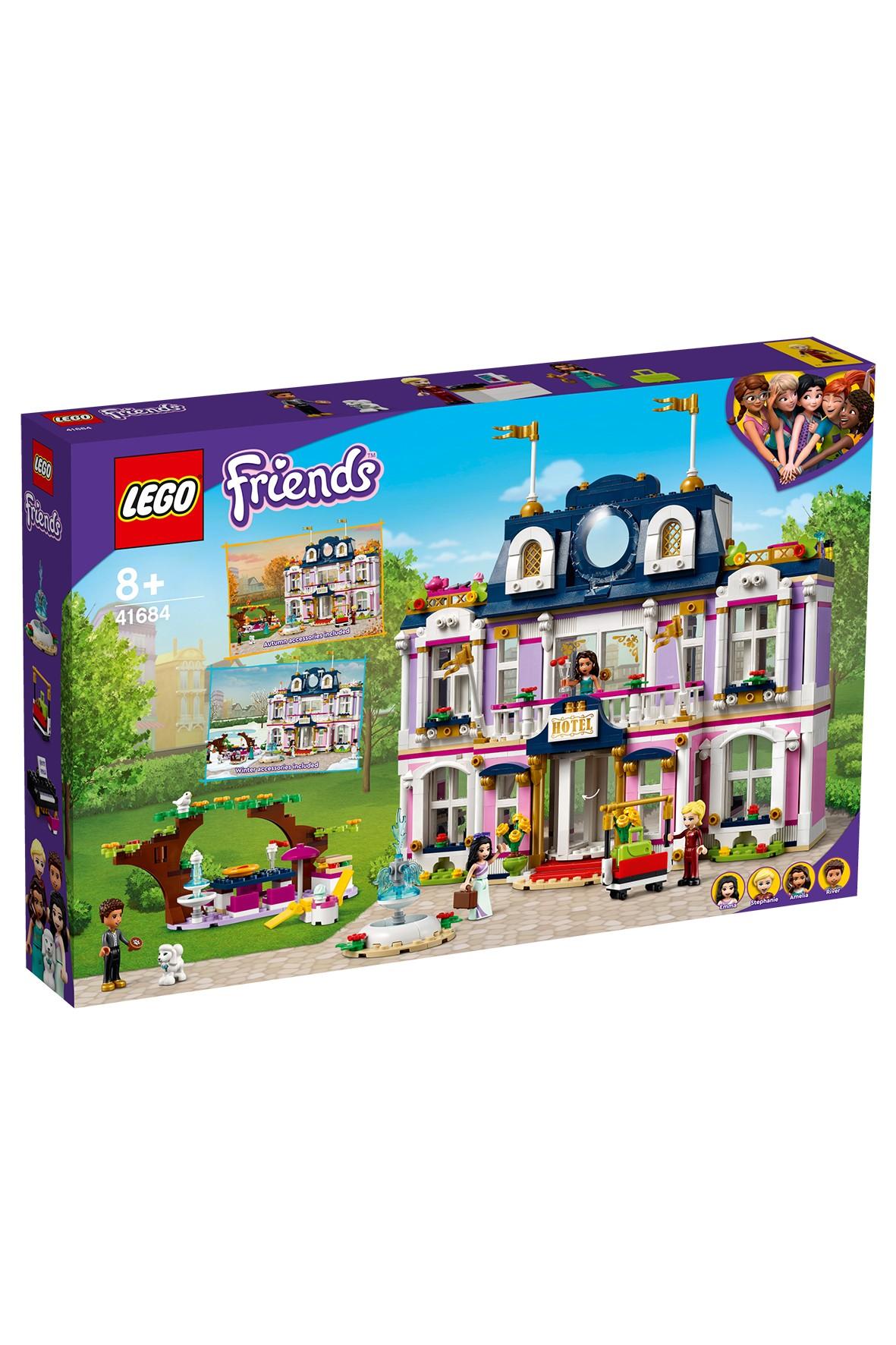LEGO® Friends Wielki hotel w mieście Heartlake - 1308 elementów, wiek 8+