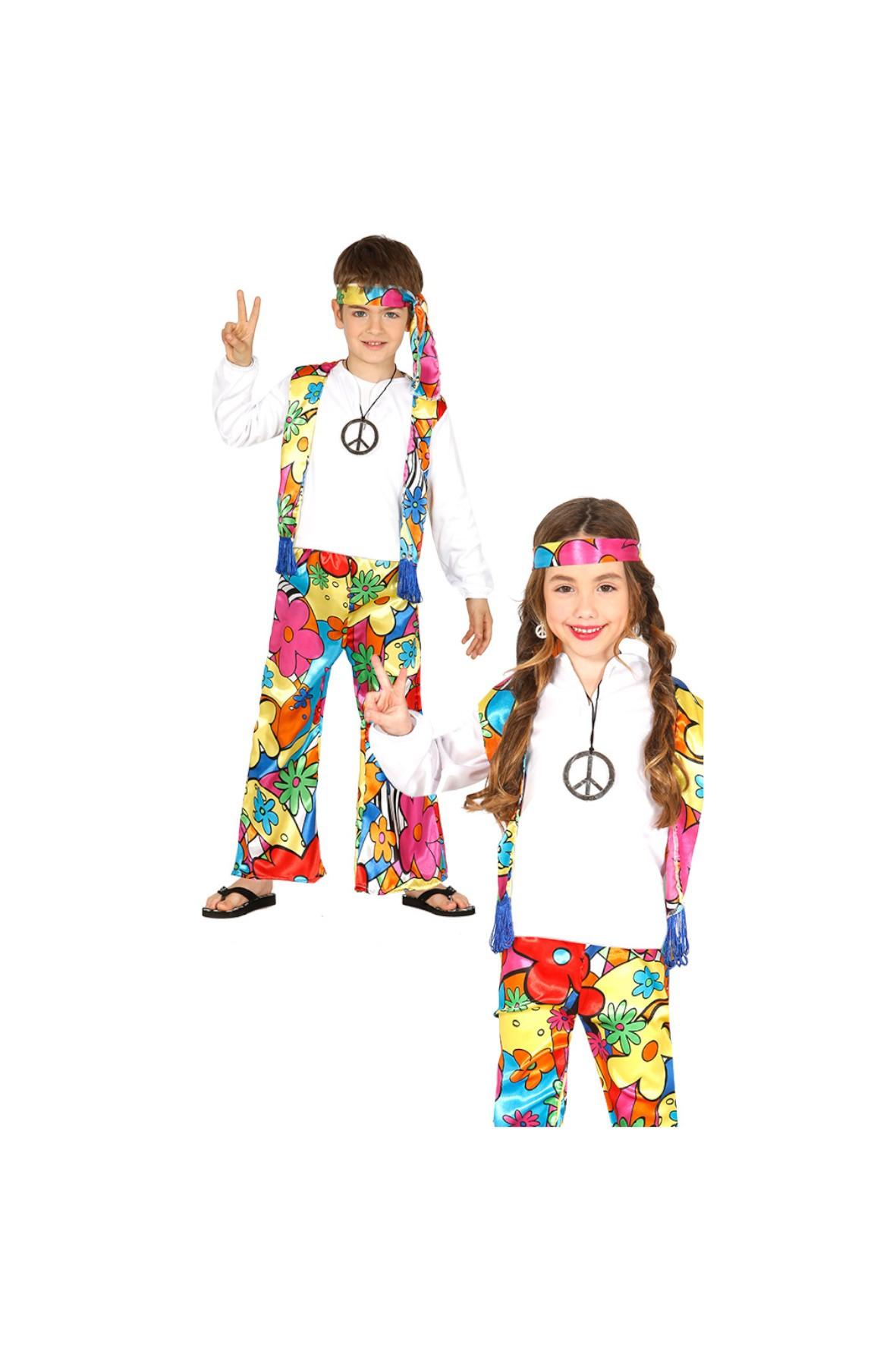 Strój Karnawałowy Hippis 3-9 lat
