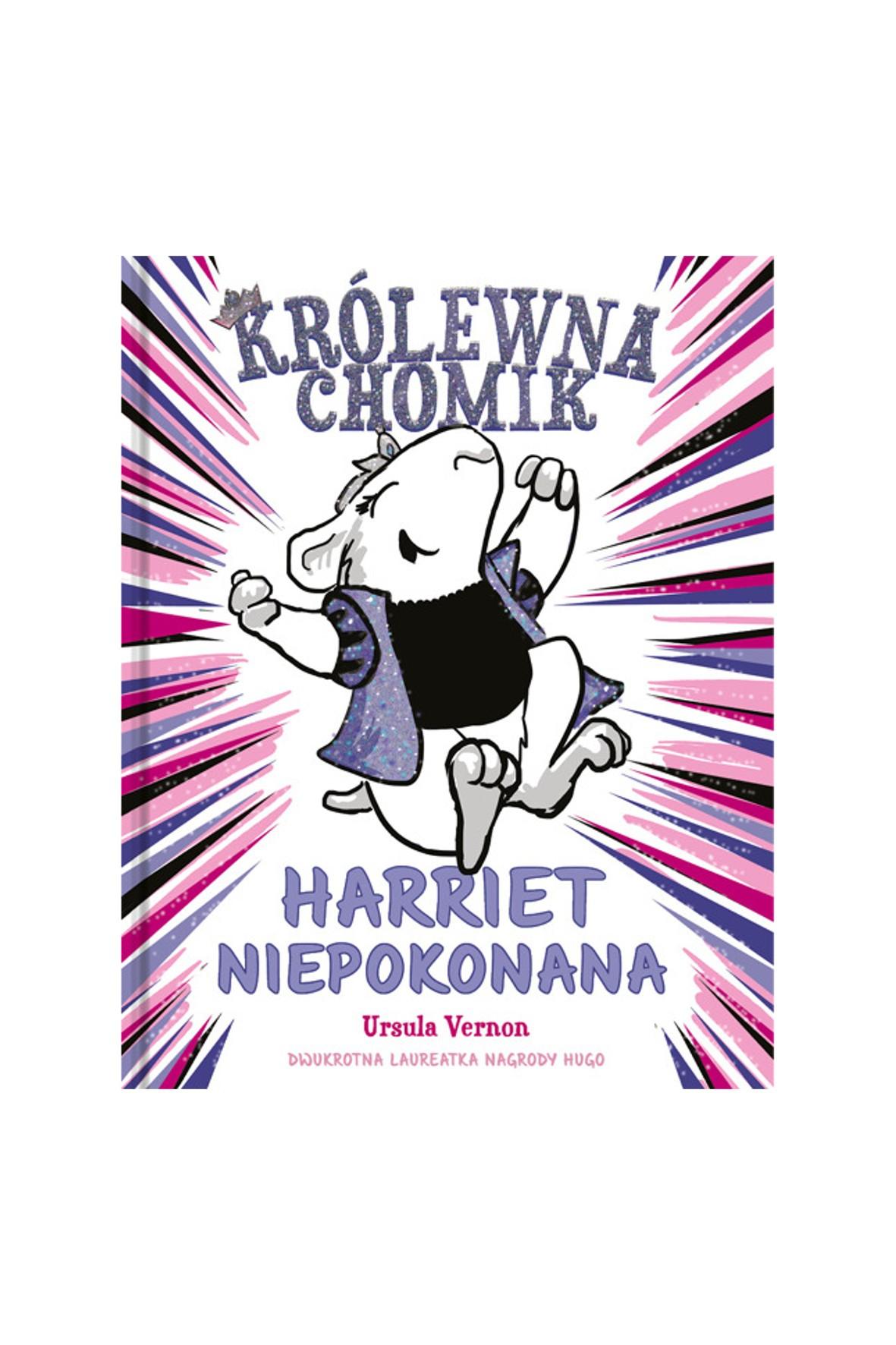 "Książka ""Królewna chomik. Harriet Niepokonana""-U.Vernon"