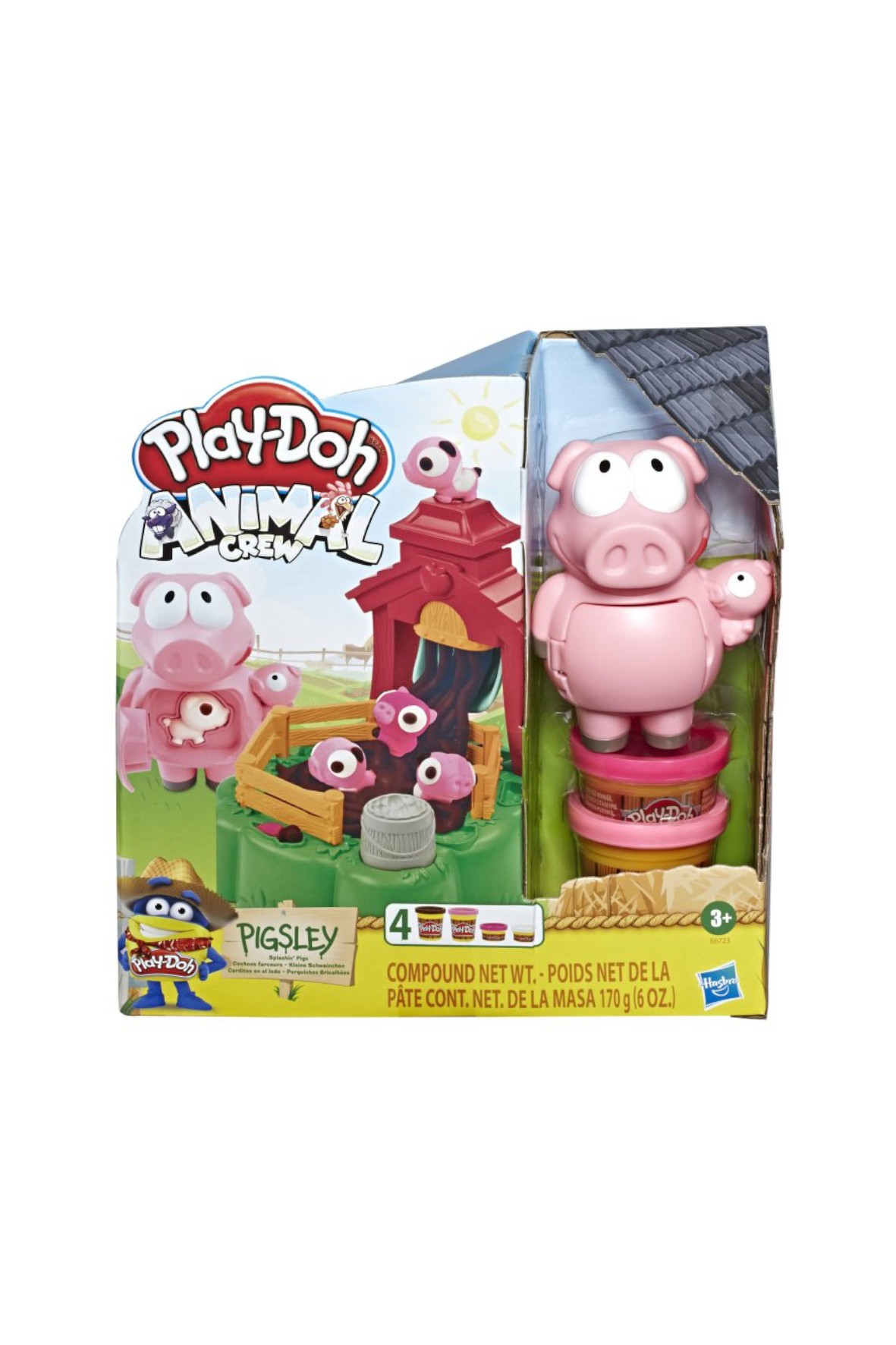 Play-Doh - Ciastolina Farma Błotne Świnki 3+