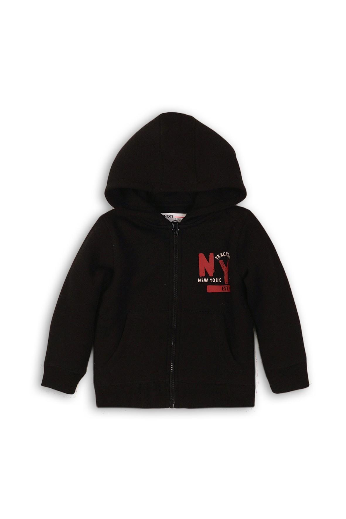 Dresowa bluza dla niemowlaka- czarna