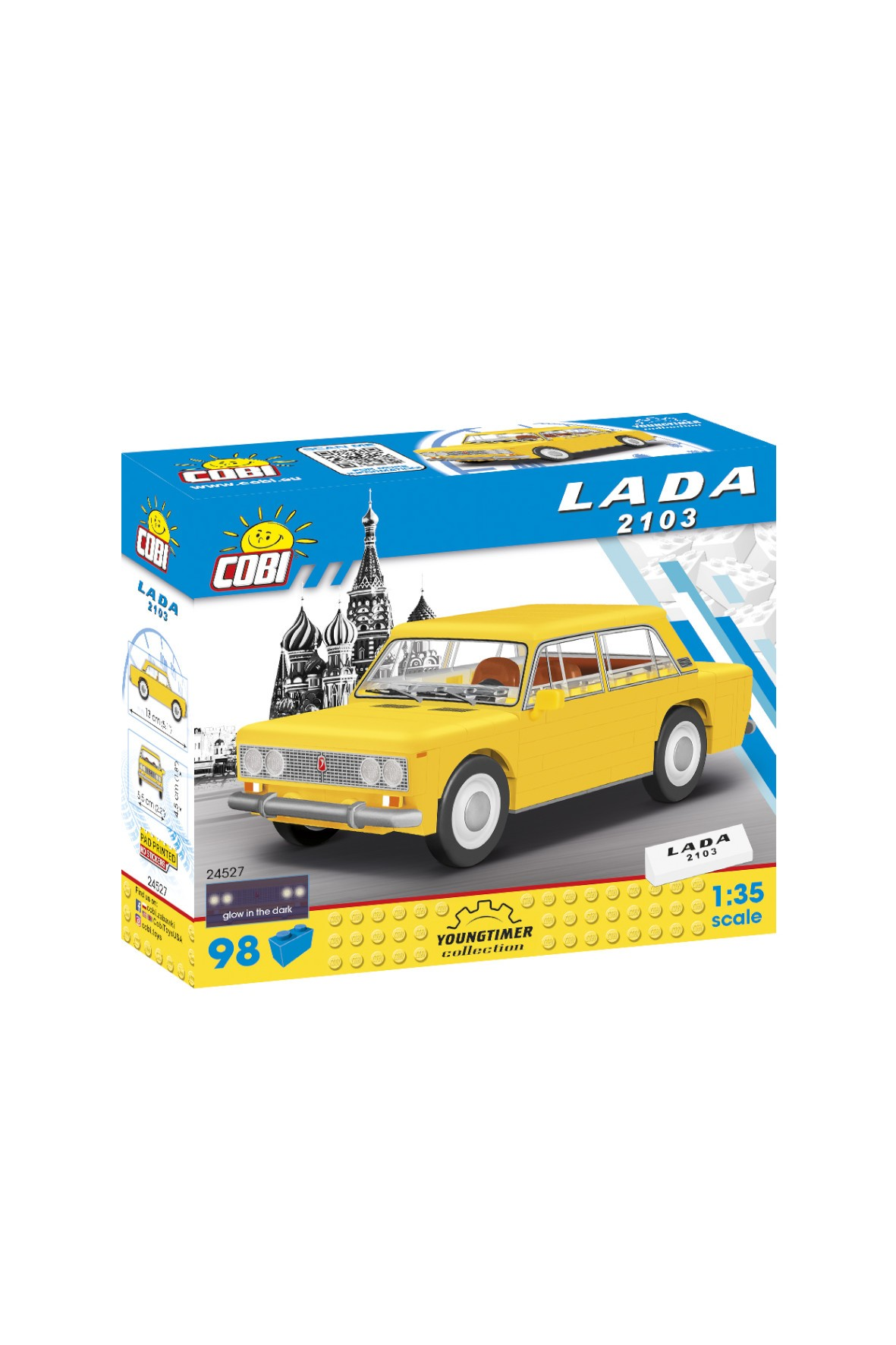 Klocki COBI 1972 Lada 2103 (Lada 1500) wiek 5+