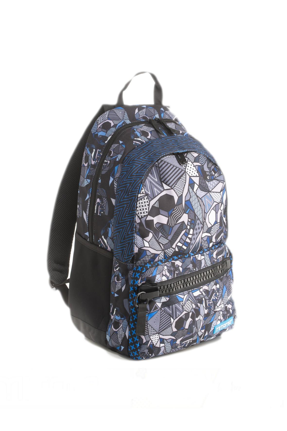Plecak chłopięcy szkolny Unlimited - czarno-szary