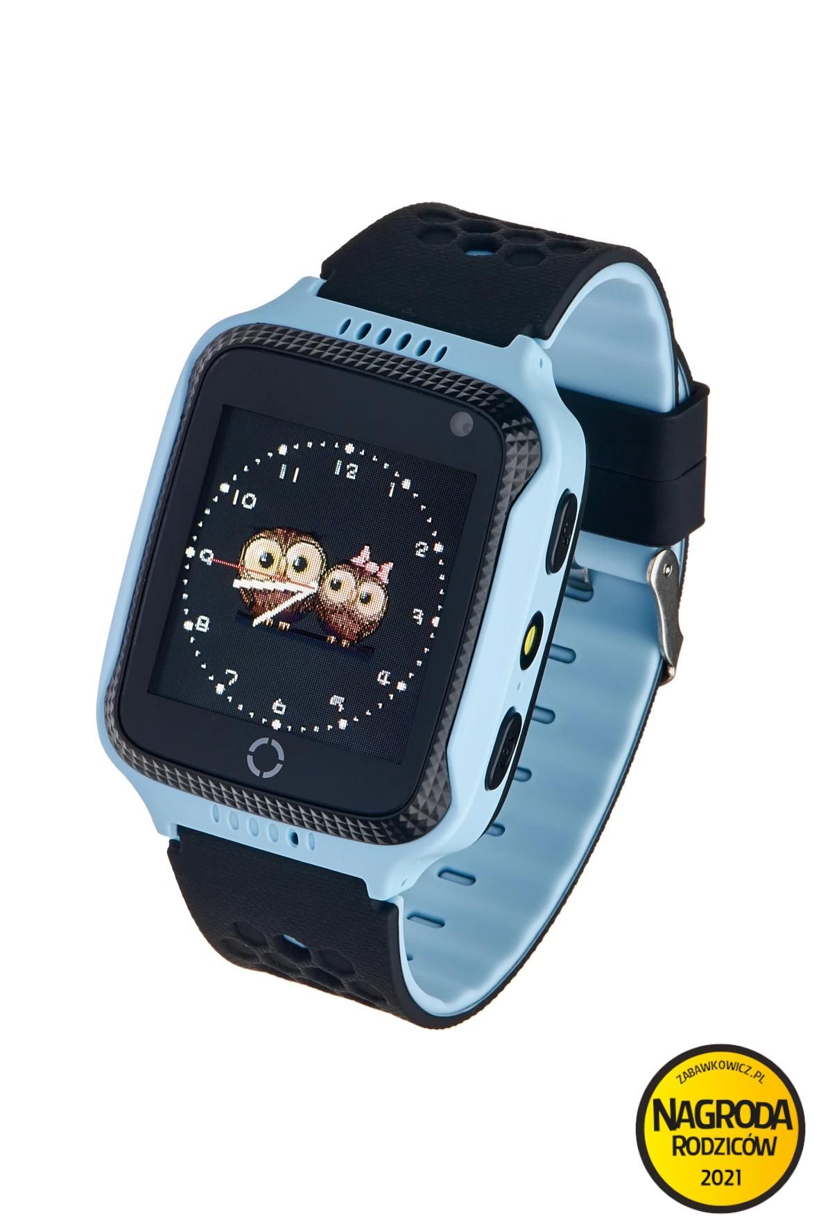Smartwatch Garett GPS Junior 2- niebieski
