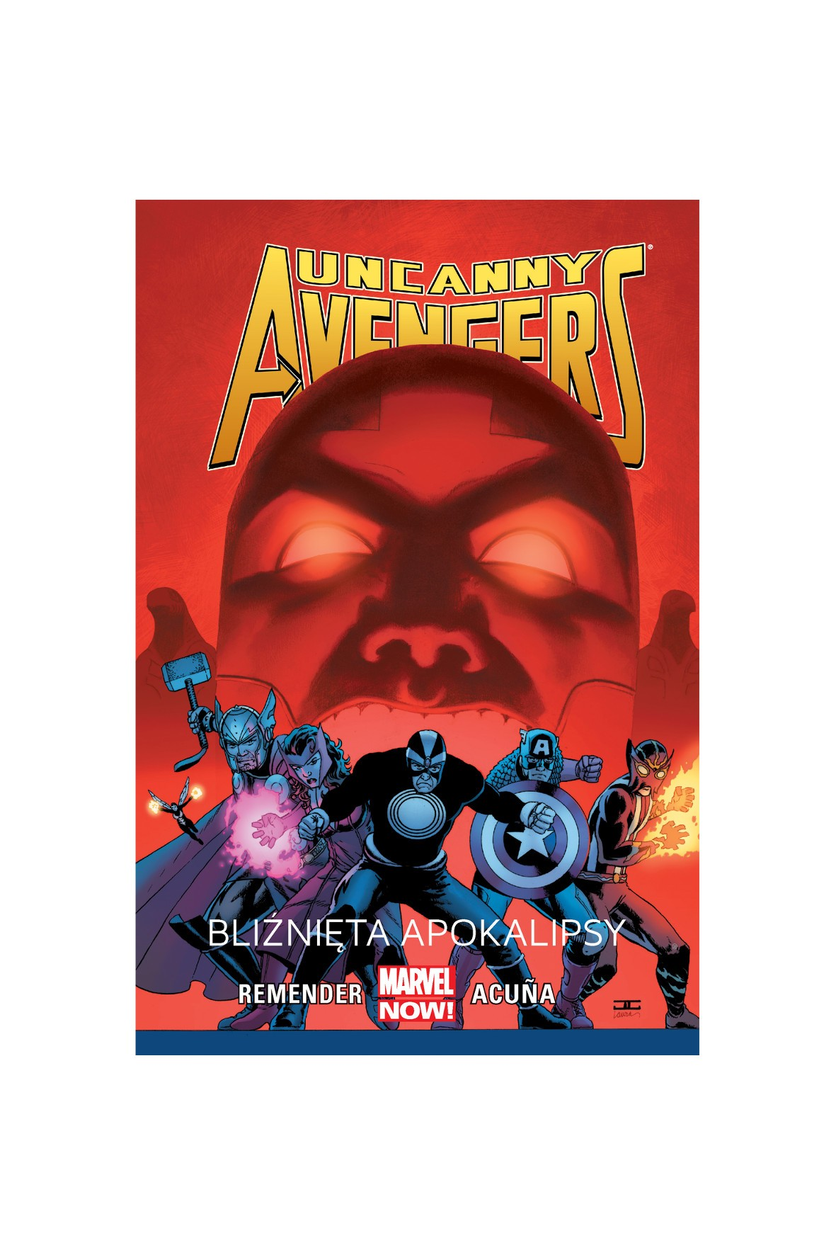Album Uncanny Avengers: Bliźnięta Apokalipsy. Tom 2
