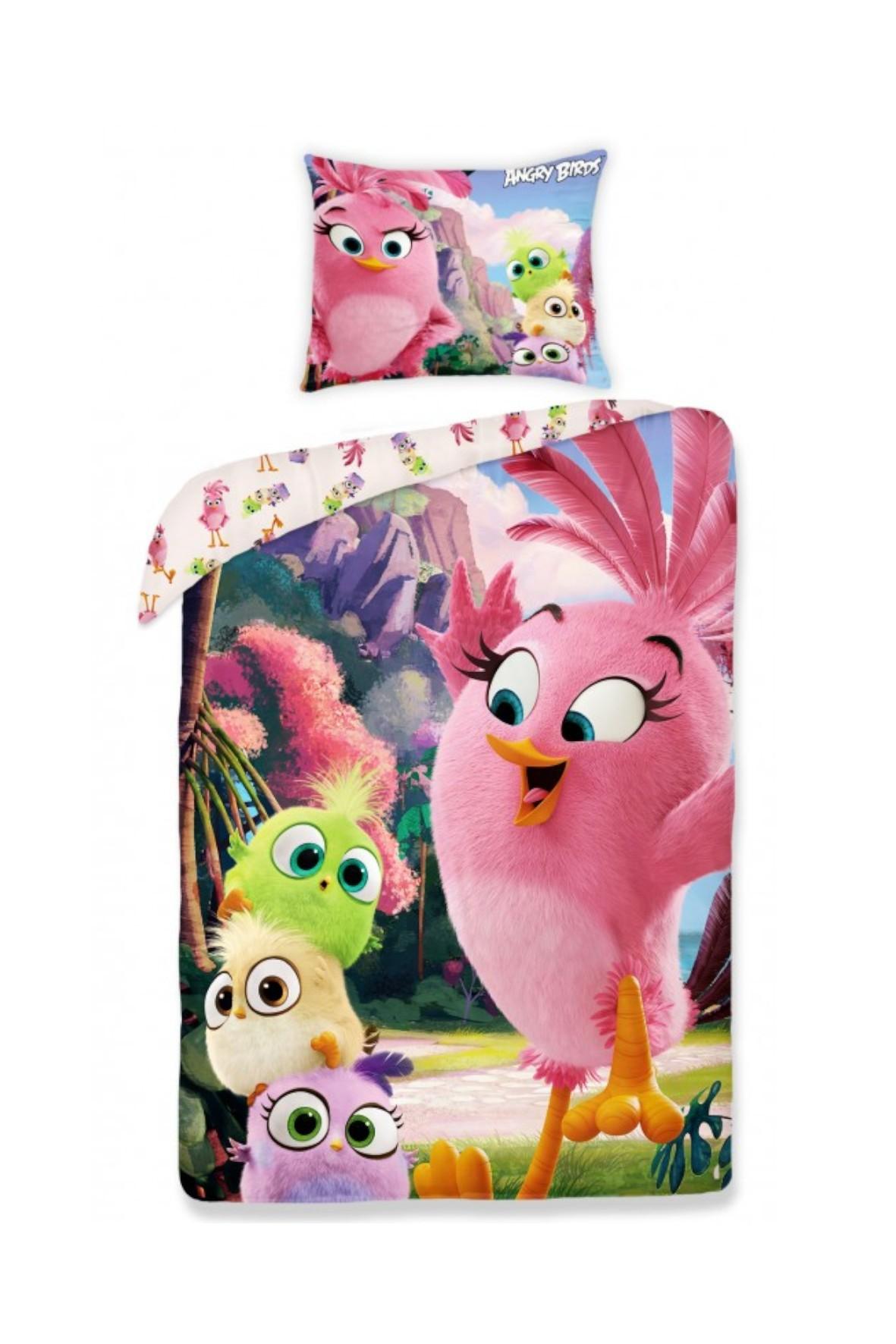 Pościel Angry Birds 140x200cm+70x90cm