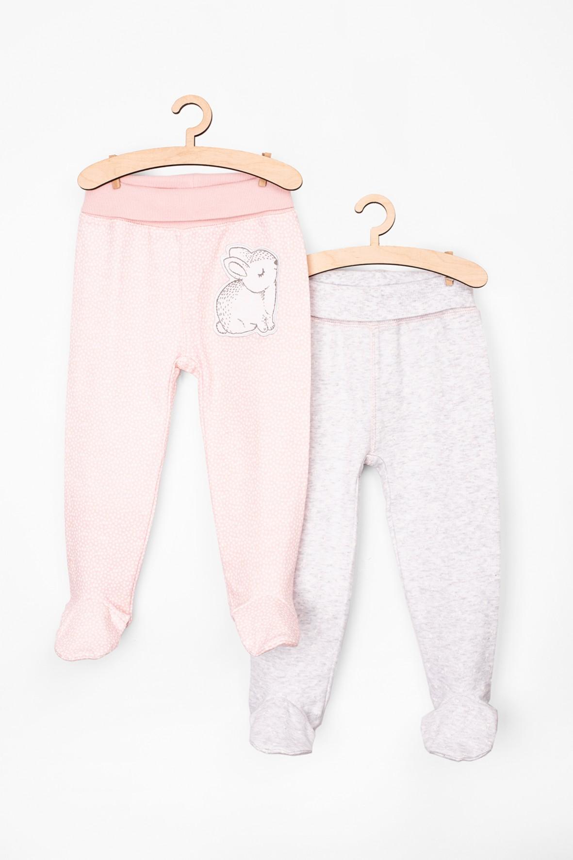 Półśpiochy niemowlęce dla dziewczynki 2pak