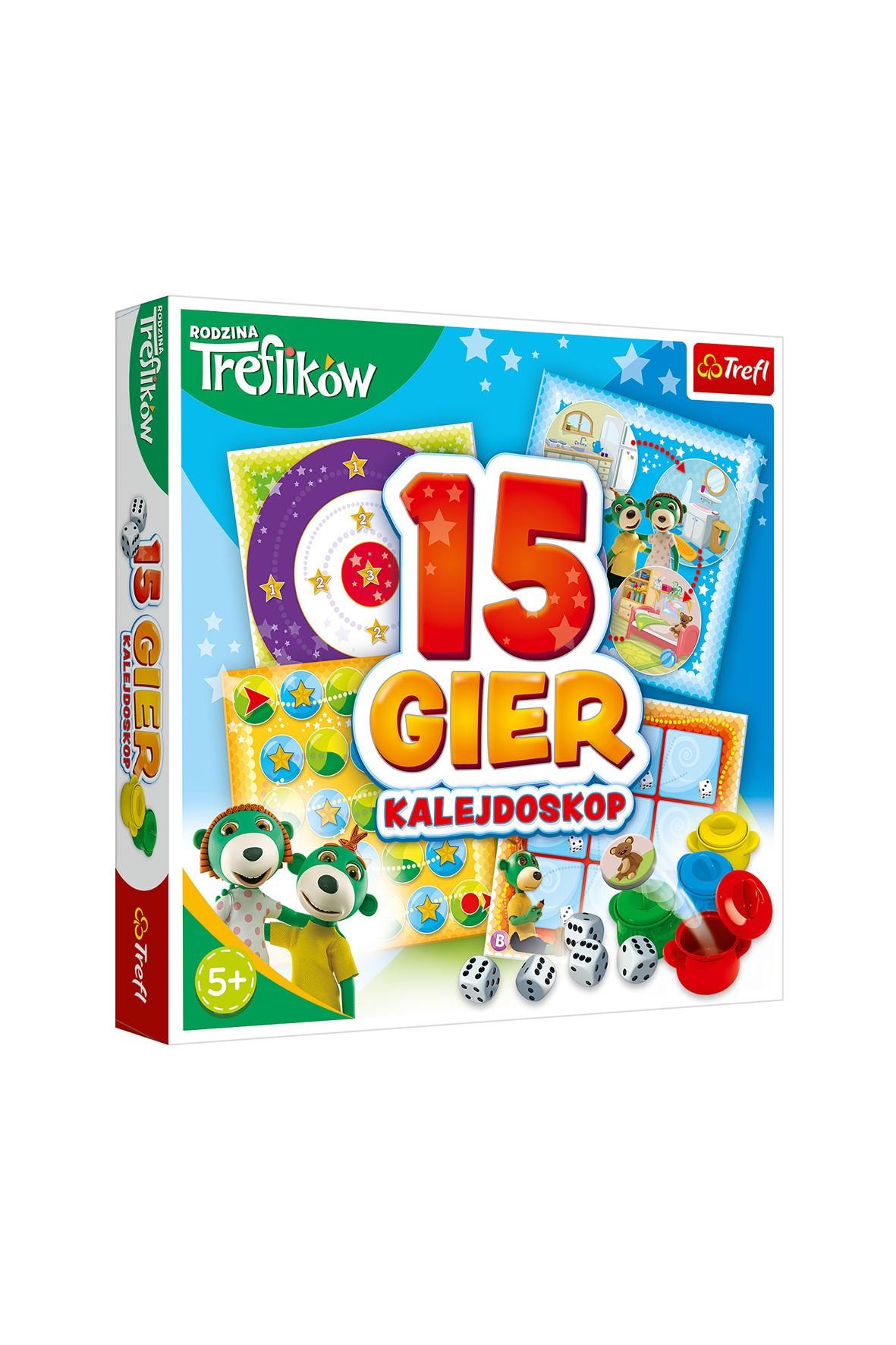 15 gier - Kalejdoskop Trefliki 5+