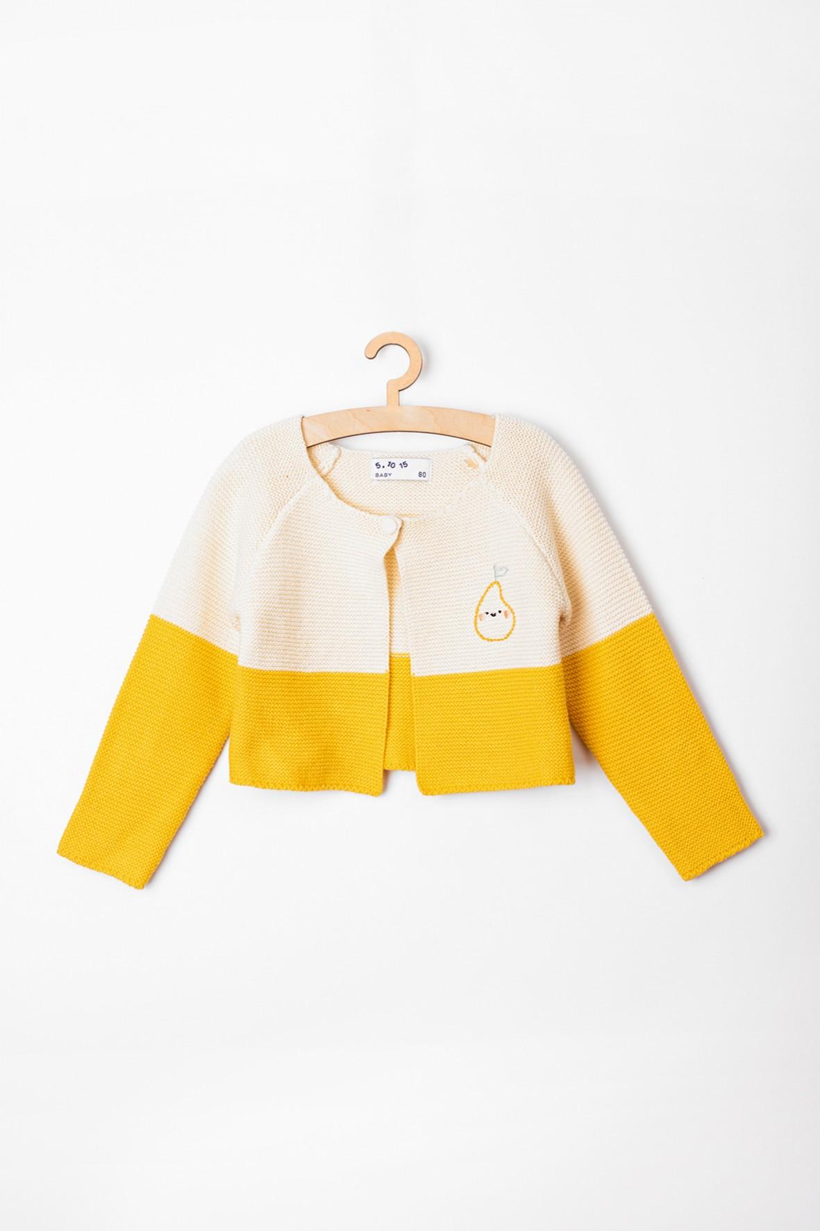 Sweter niemowlęcy- bolerko