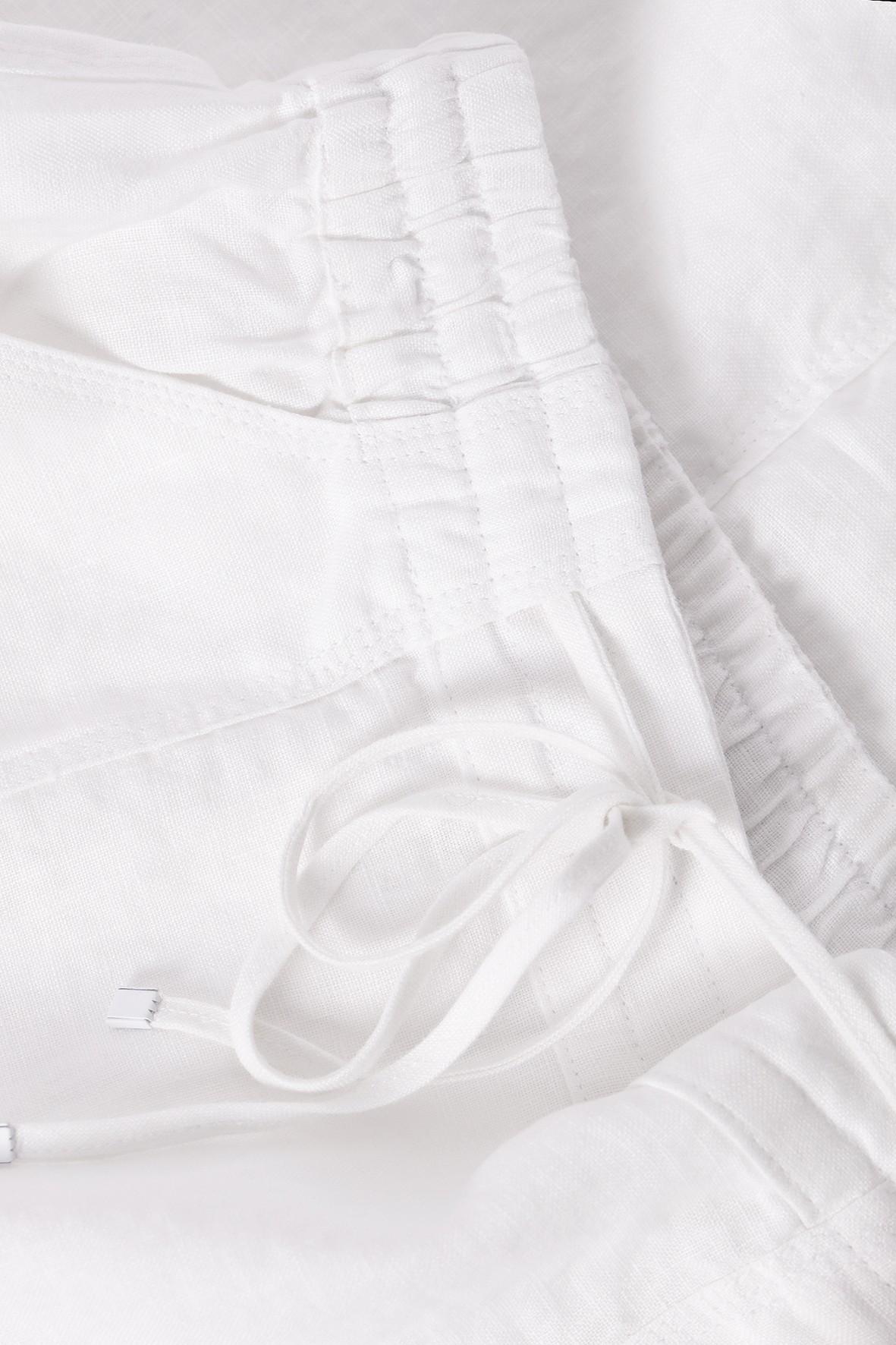 Tatuum Spódnica lniana biała z kieszeniami midi Ceny i