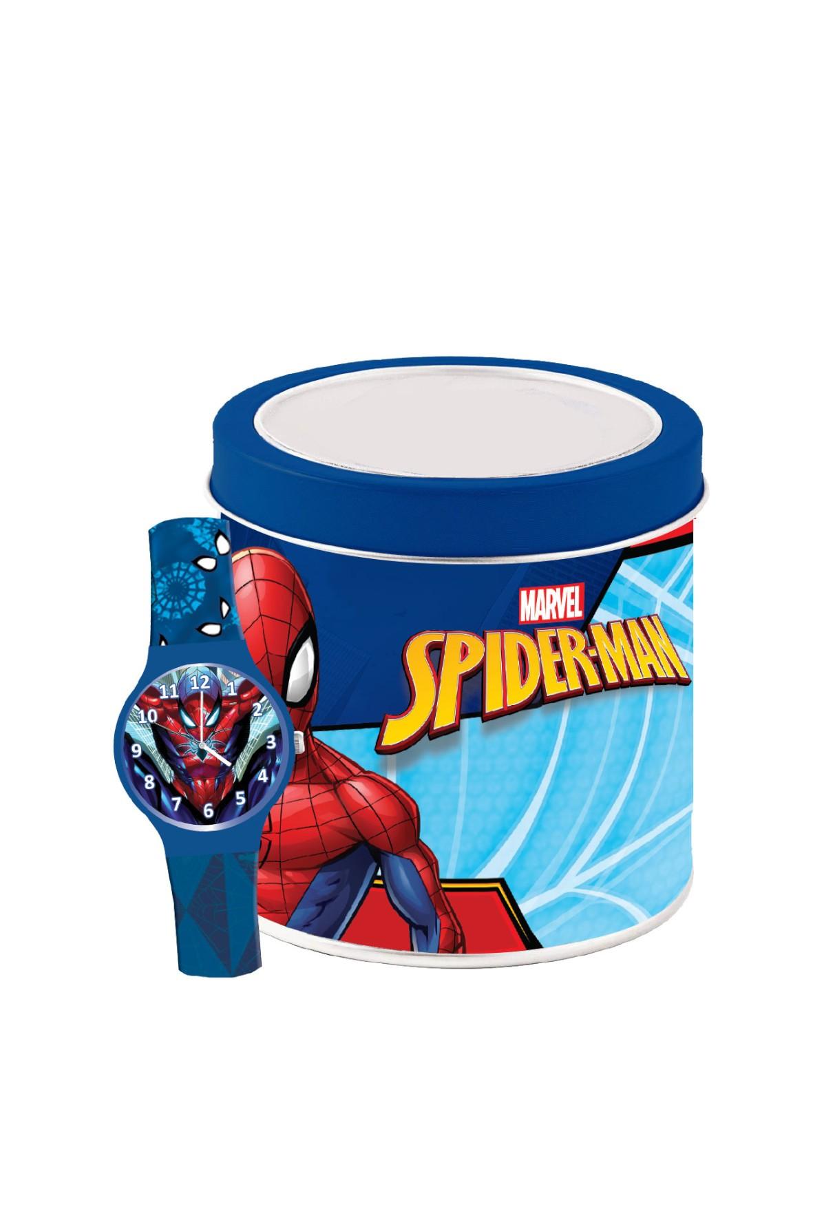 Zegarek Analogowy Spiderman w puszce 3+