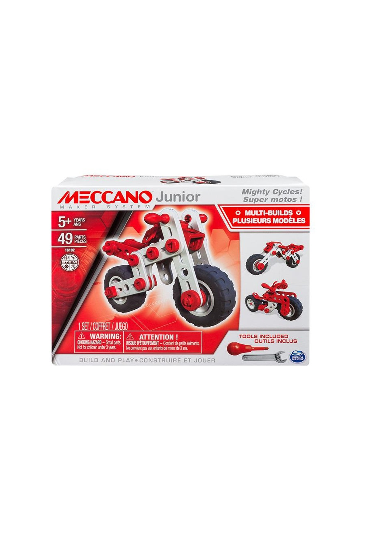 Klocki Meccano Junior- motory