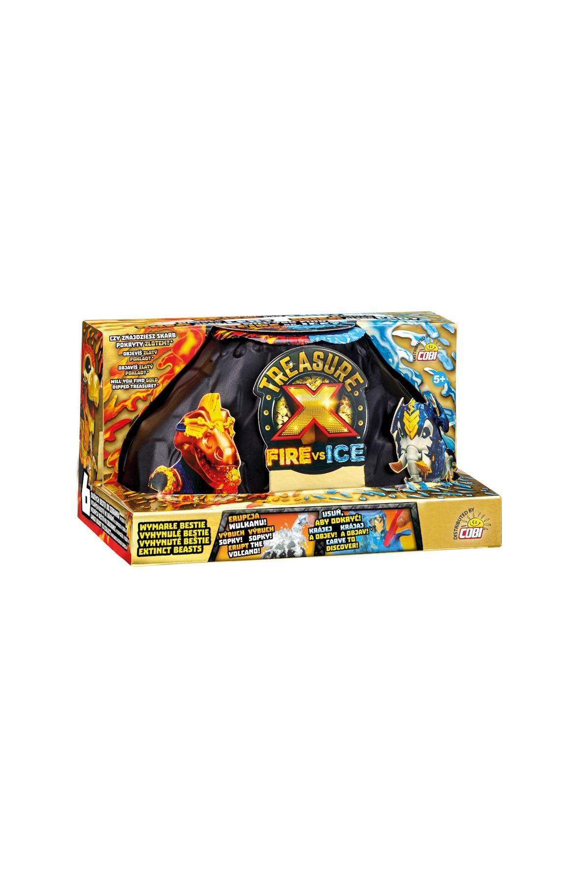 Treasure X Fire & Ice Wymarła Bestia