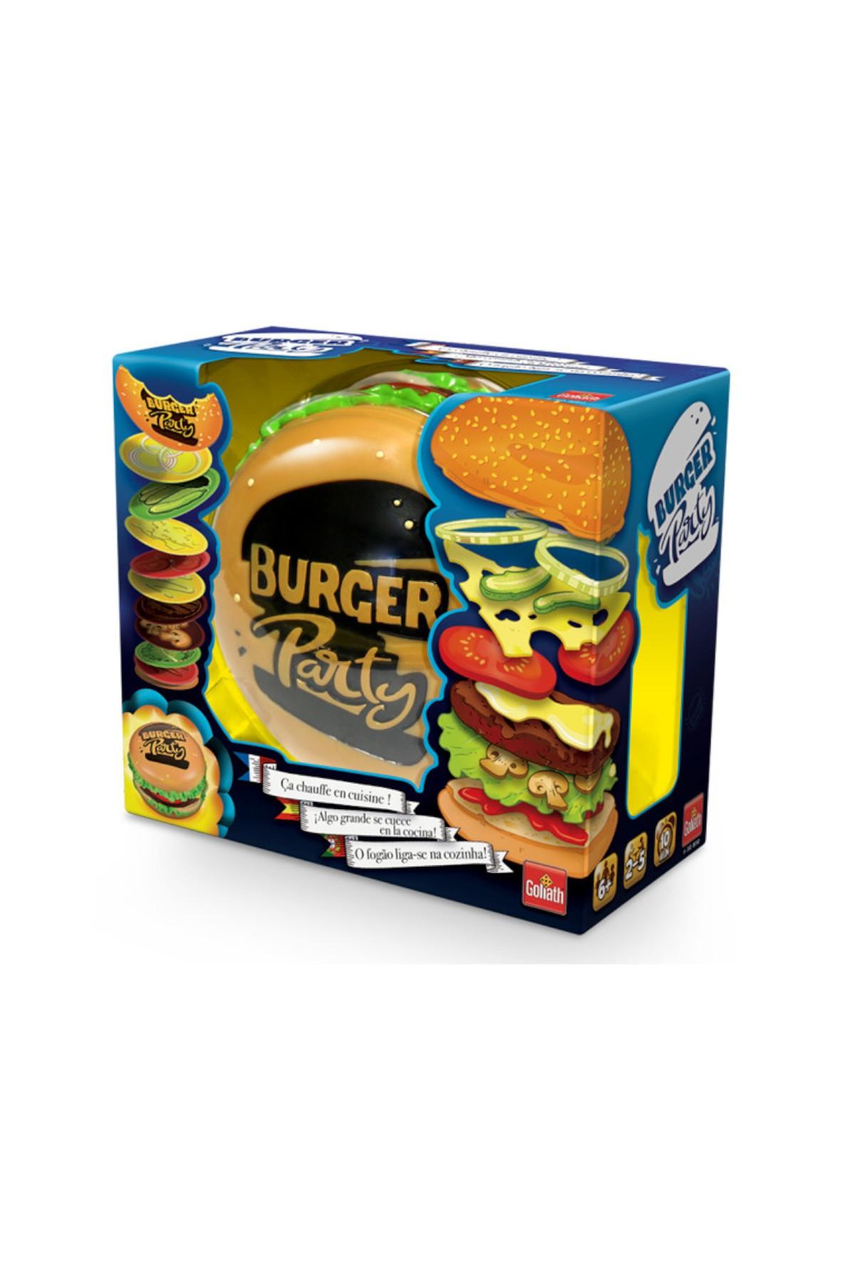Gra dla dzieci Burger Party