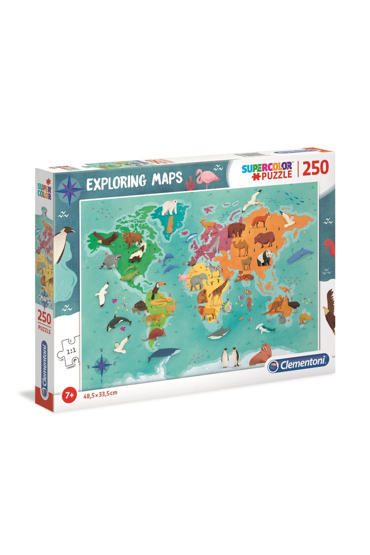 Puzzle  Zwierzęta świata - 250 el wiek 7+