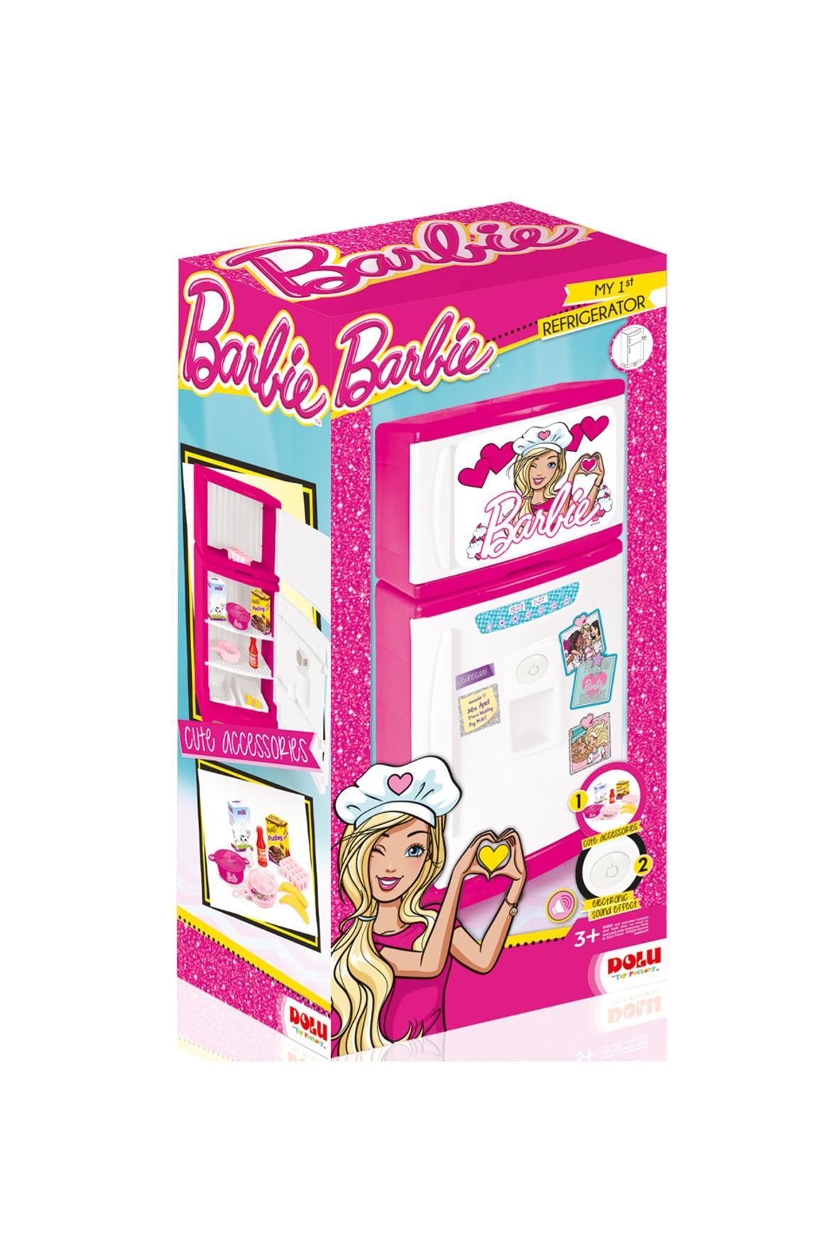 Lodówka z dźwiękiem Barbie wiek 3+