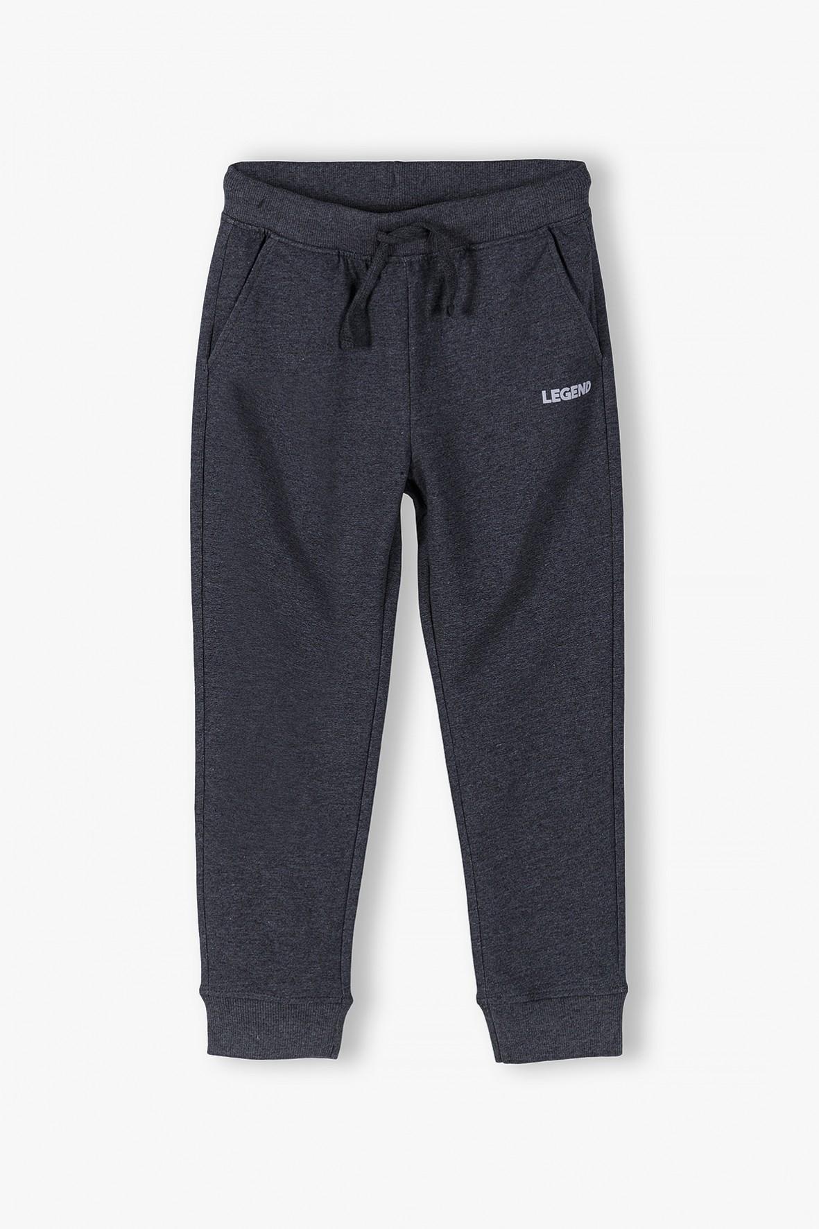 Spodnie dresowe niemowlęce szare- Legend