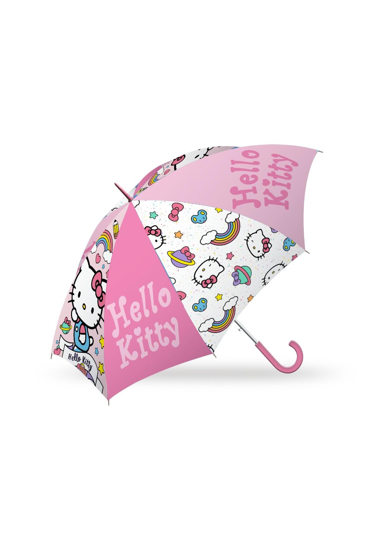 """Parasolka manualna, 16"""" Hello Kitty"""