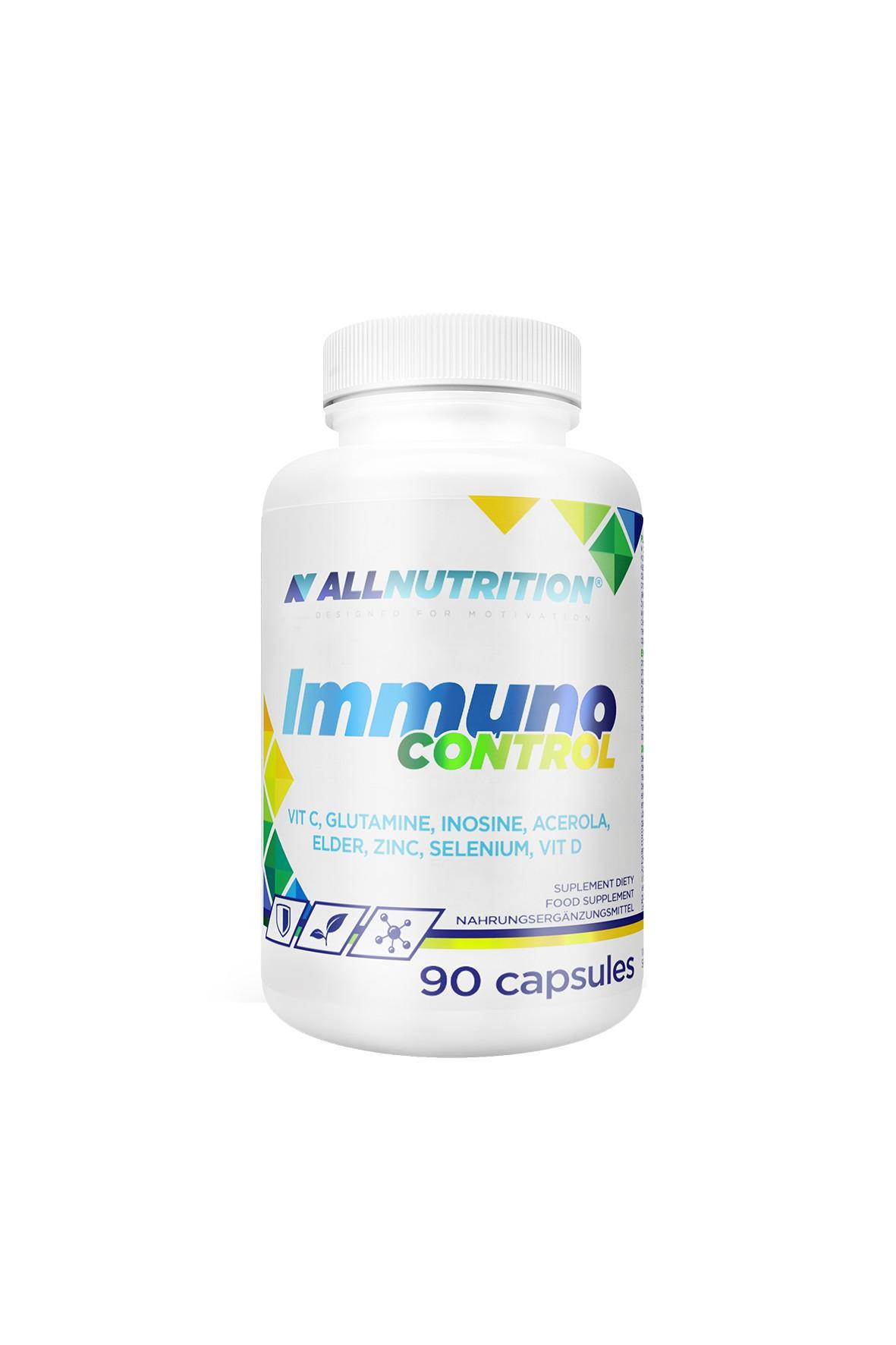 Suplementy diety - Allnutrition Immuno Control - 90 kapsułek
