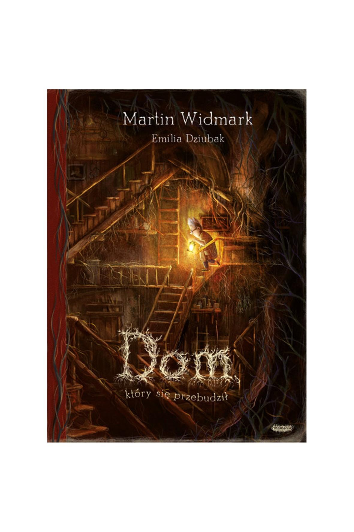 """Książka """"""""Dom, który się przebudził"""" M.Widmark"""