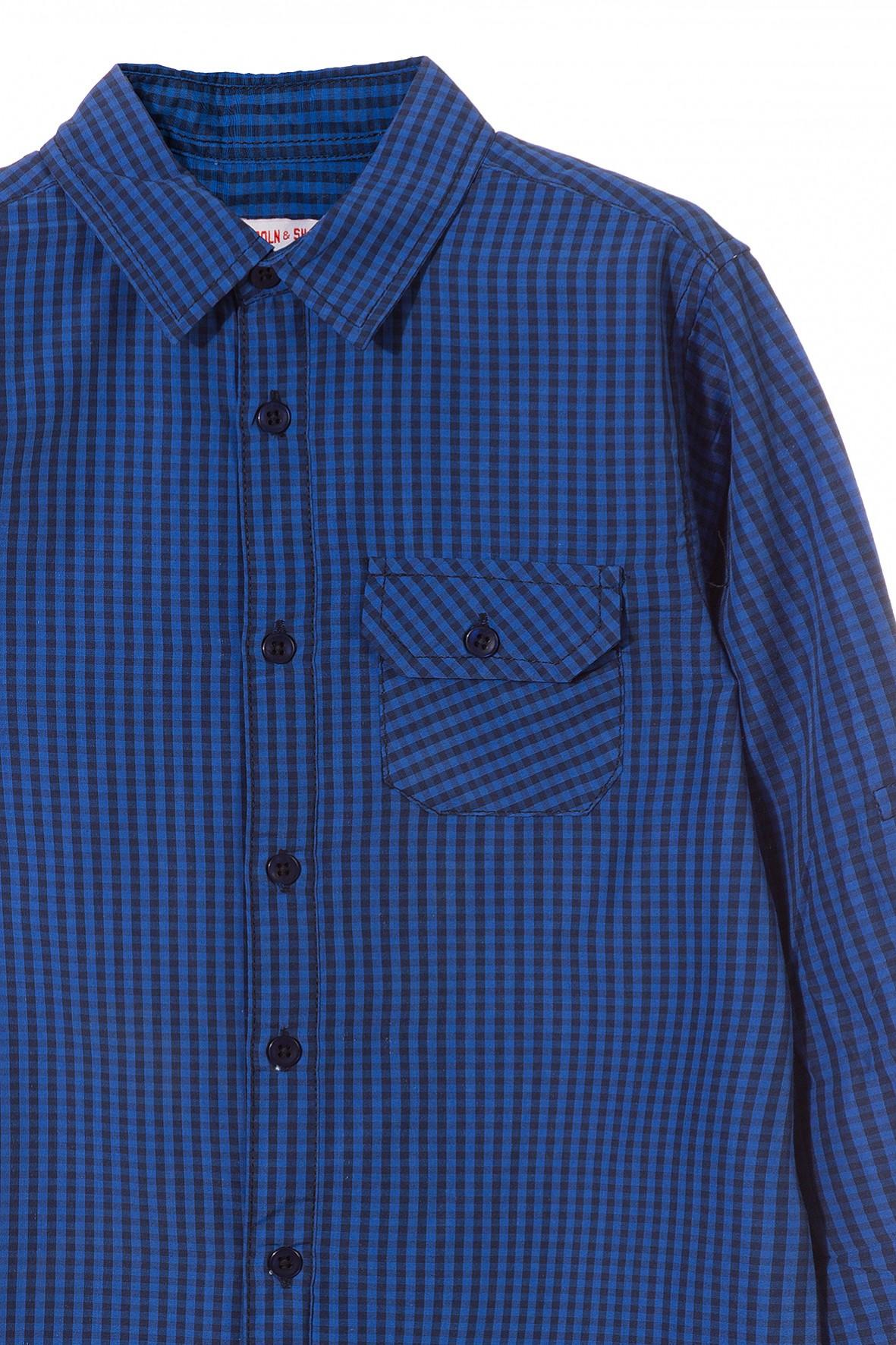 6d4084c4a Koszula chłopięca w kratkę 100% 2J3514 | Sklep 5.10.15